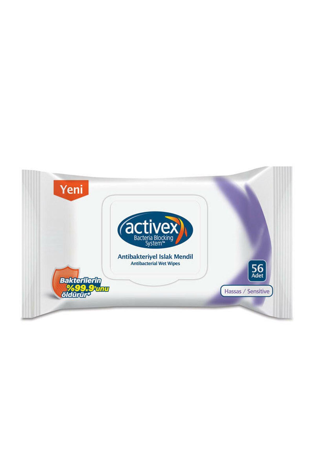 Activex Islak Havlu 56'lı Hassas Kapak