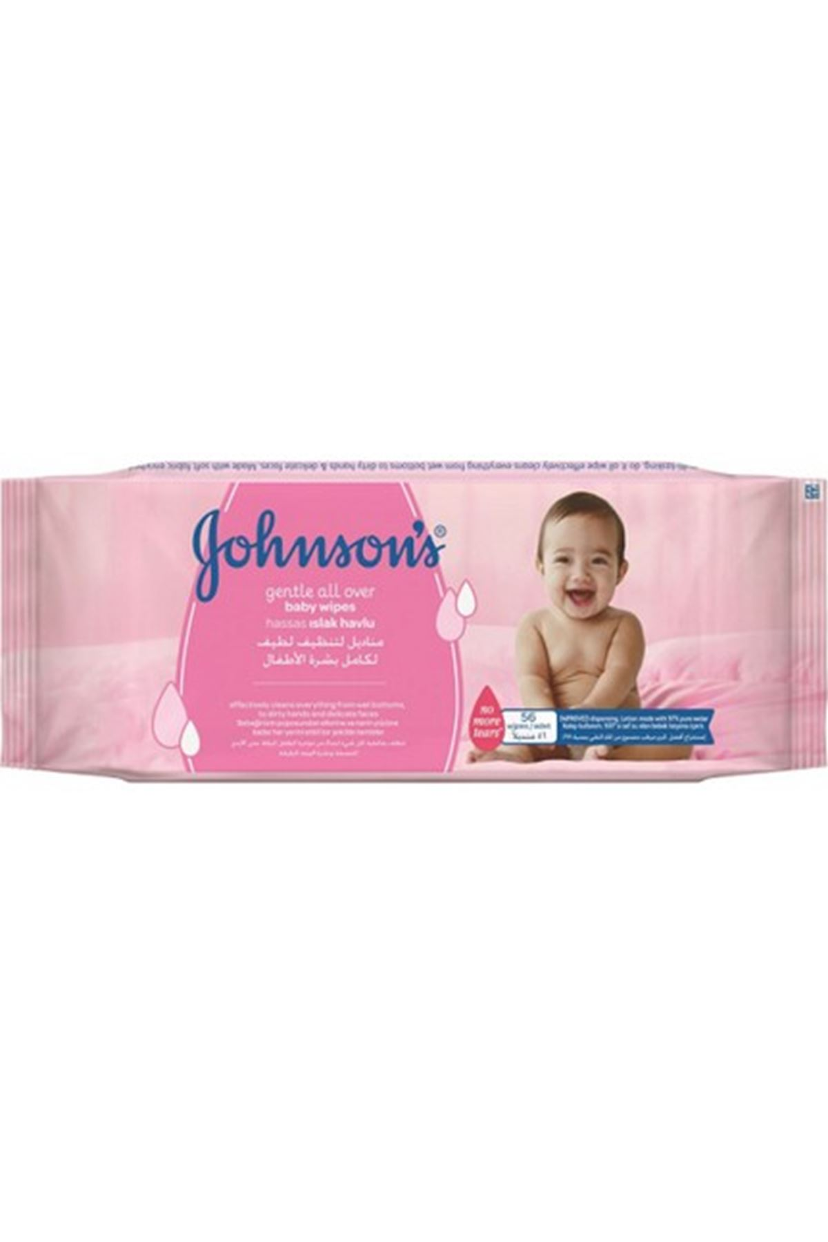 Johnson' s Baby 56' lı Islak Havlu