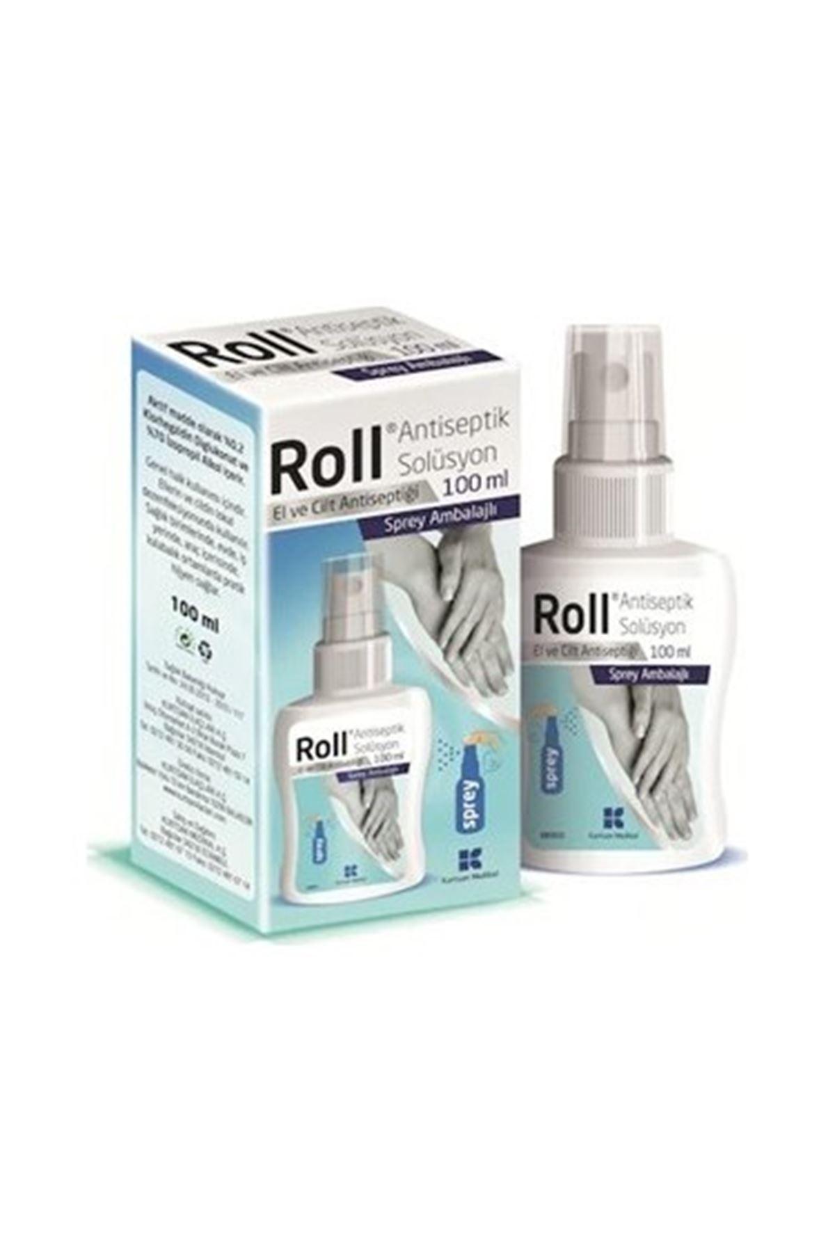 Roll Anteseptik Solusyon El Cilt Dezenfektanı 100 ML