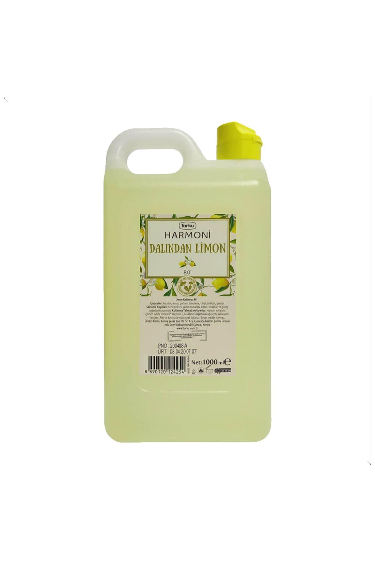 Torku Harmoni 80 Derece Limon Kolonyası 1000 ML