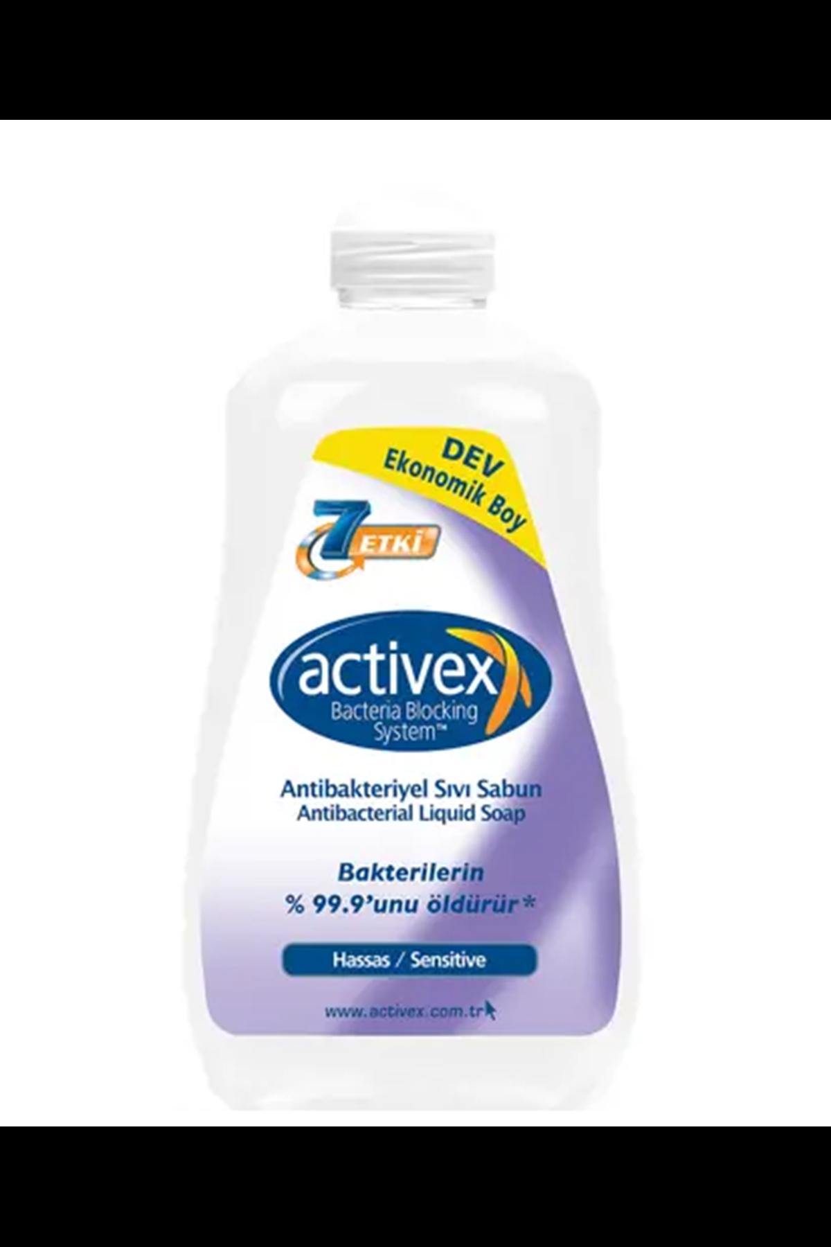 Activex Antibakteriyel Sıvı Sabun 1,8 Litre Hassas