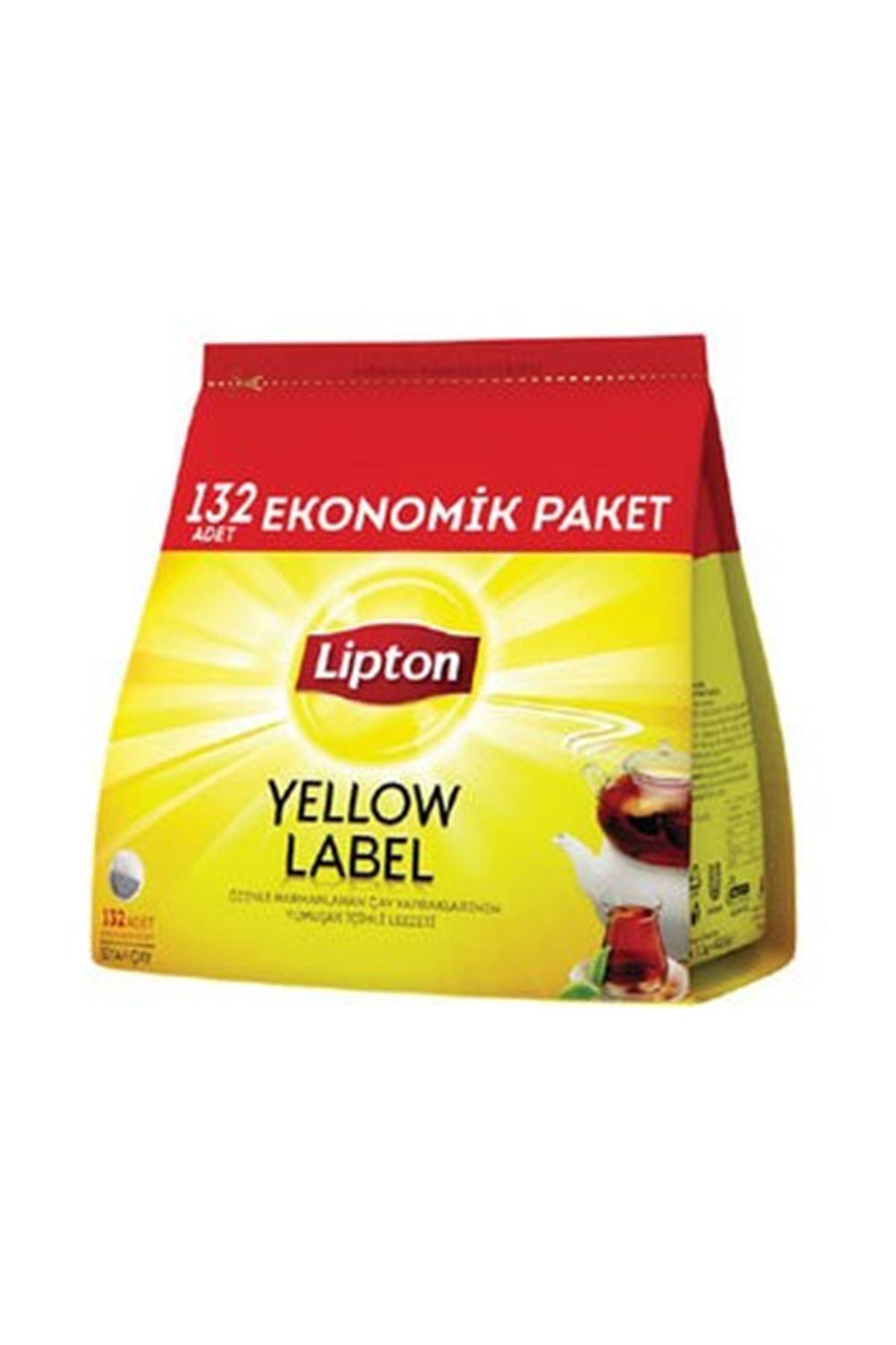 Lipton Demlik Poşet Çay Yellow Label 132'li