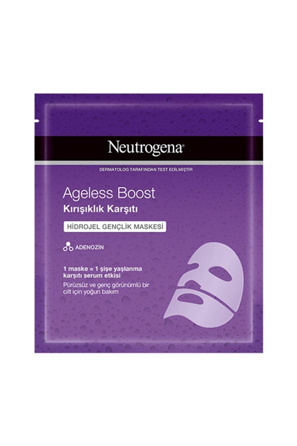 Neutrogena Ageless Boost Kırışıklık Karşıtı Hidrojel Gençlik Maskesi 30 ML