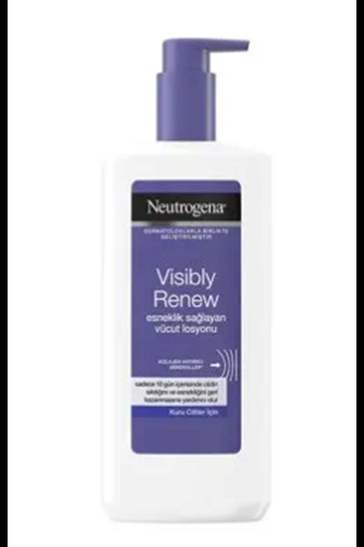 Neutrogena Visiby Renew Kolajen Artırıcı Kuru Ciltler İçin Vücut Losyonu 400 ml