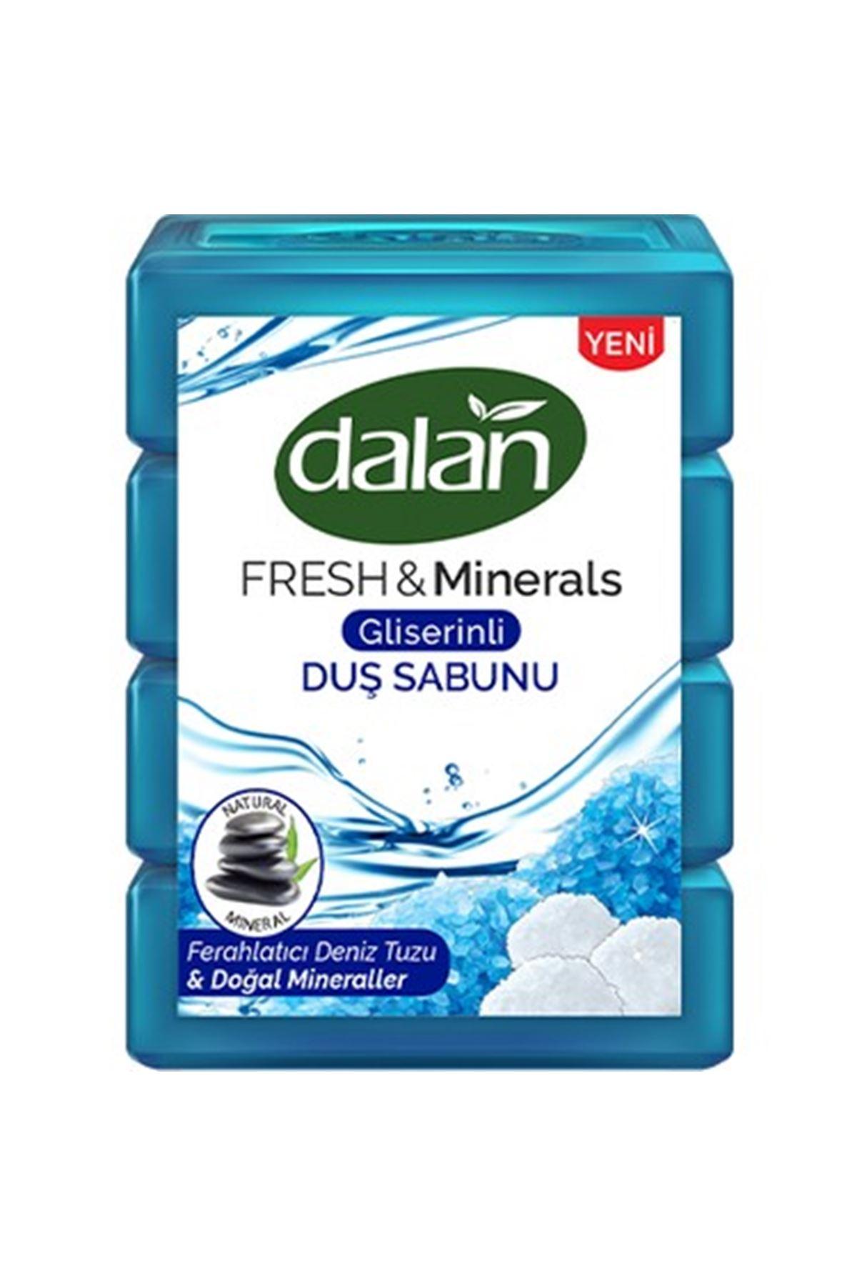 Dalan Duş Sabunu 150 Gram*4 Adet Deniz Tuzu
