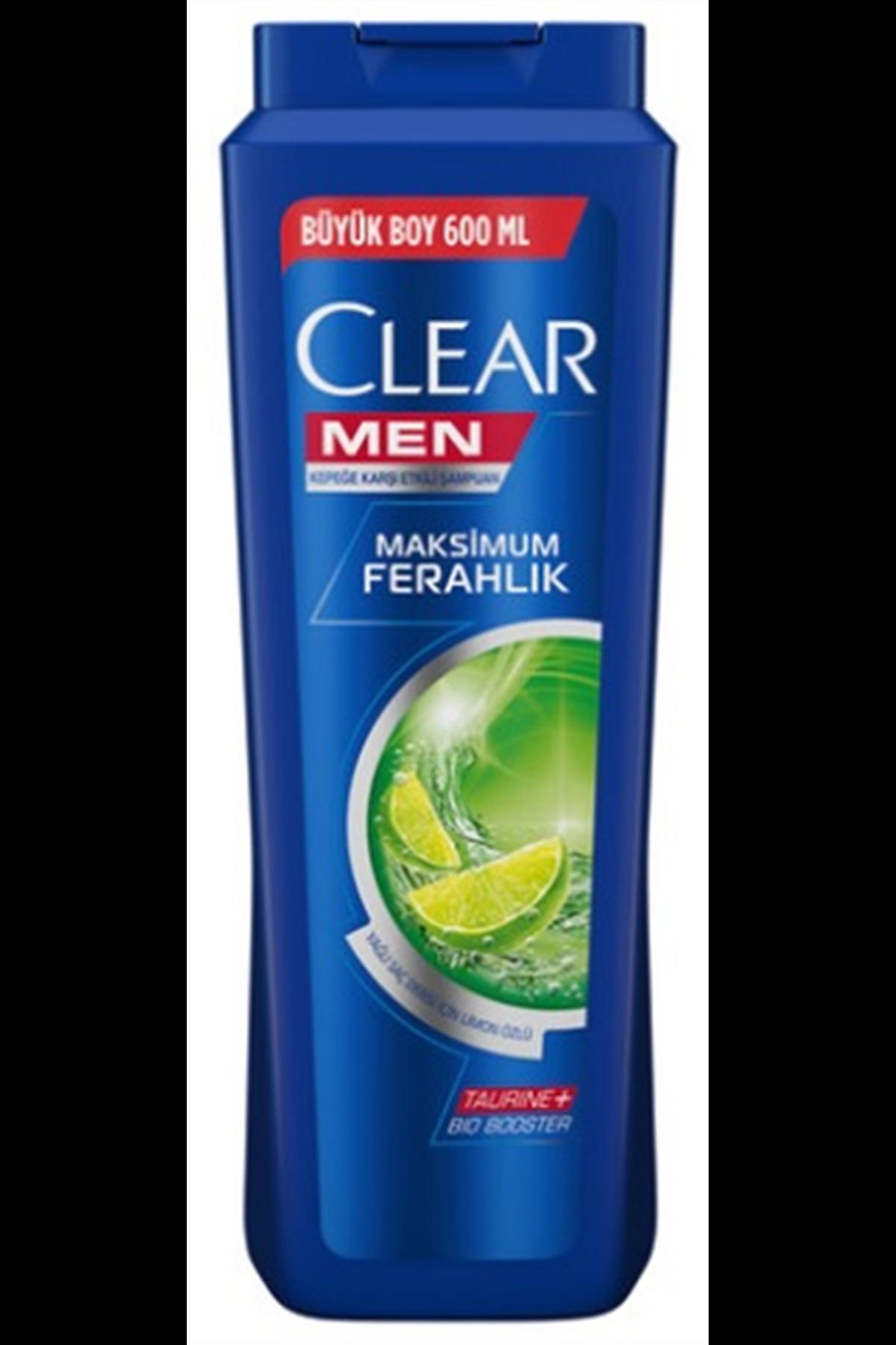 Clear Men Sampuan 600 ML Yağlı Saçlar Limon Özlü