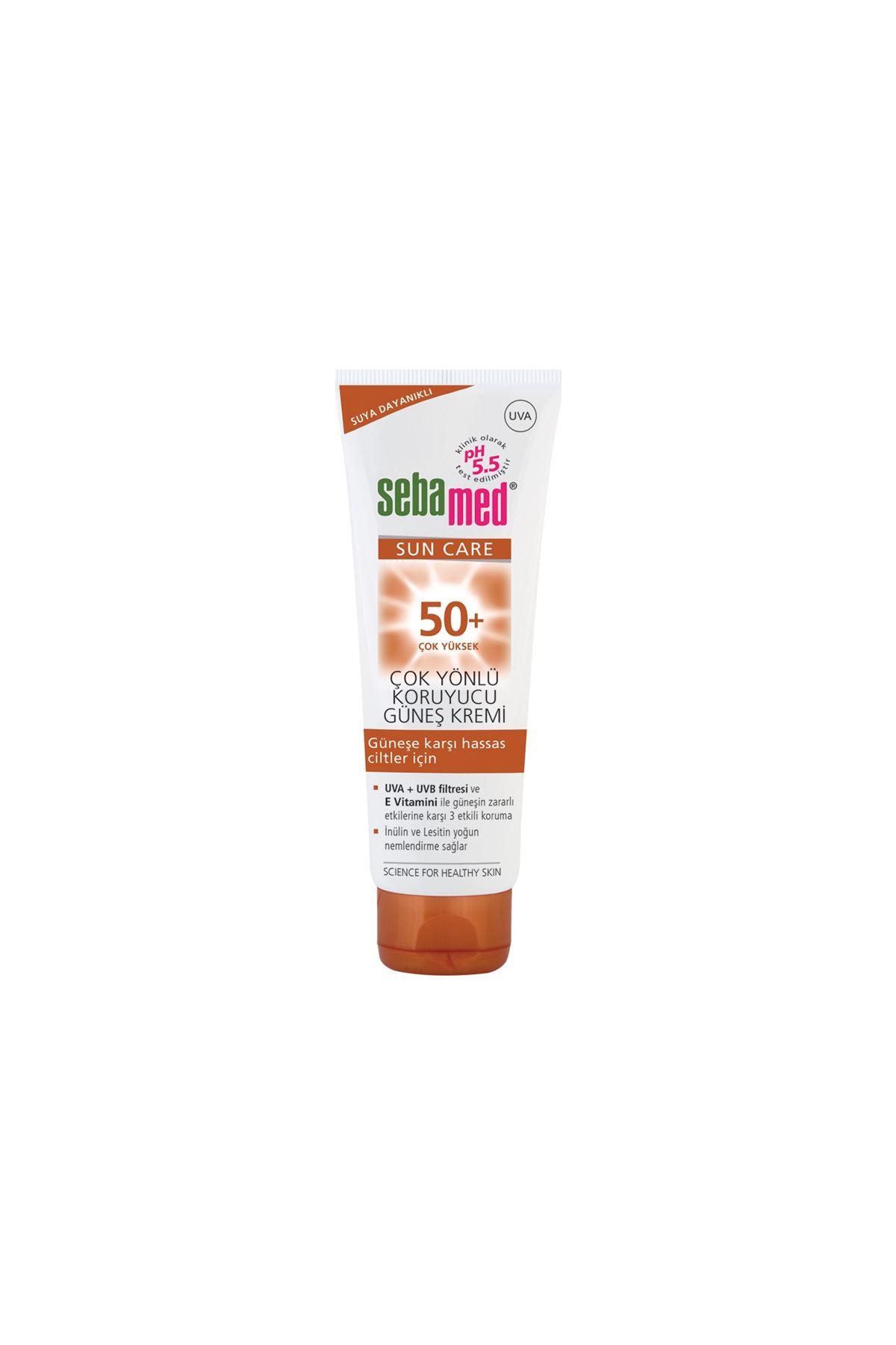 Sebamed Sun Care Spf 50+ 75 ml Çok Yönlü Güneş Kremi