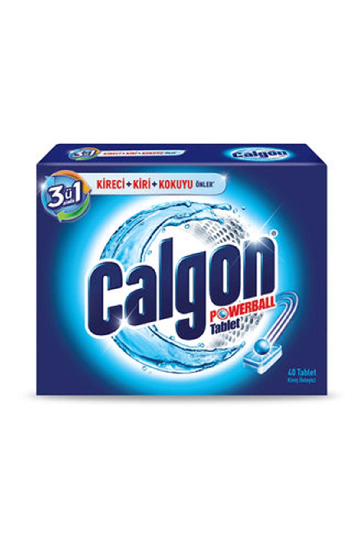 Calgon Çamaşır Makinesi Kir ve Kireç Önleyici 40'lı Tablet