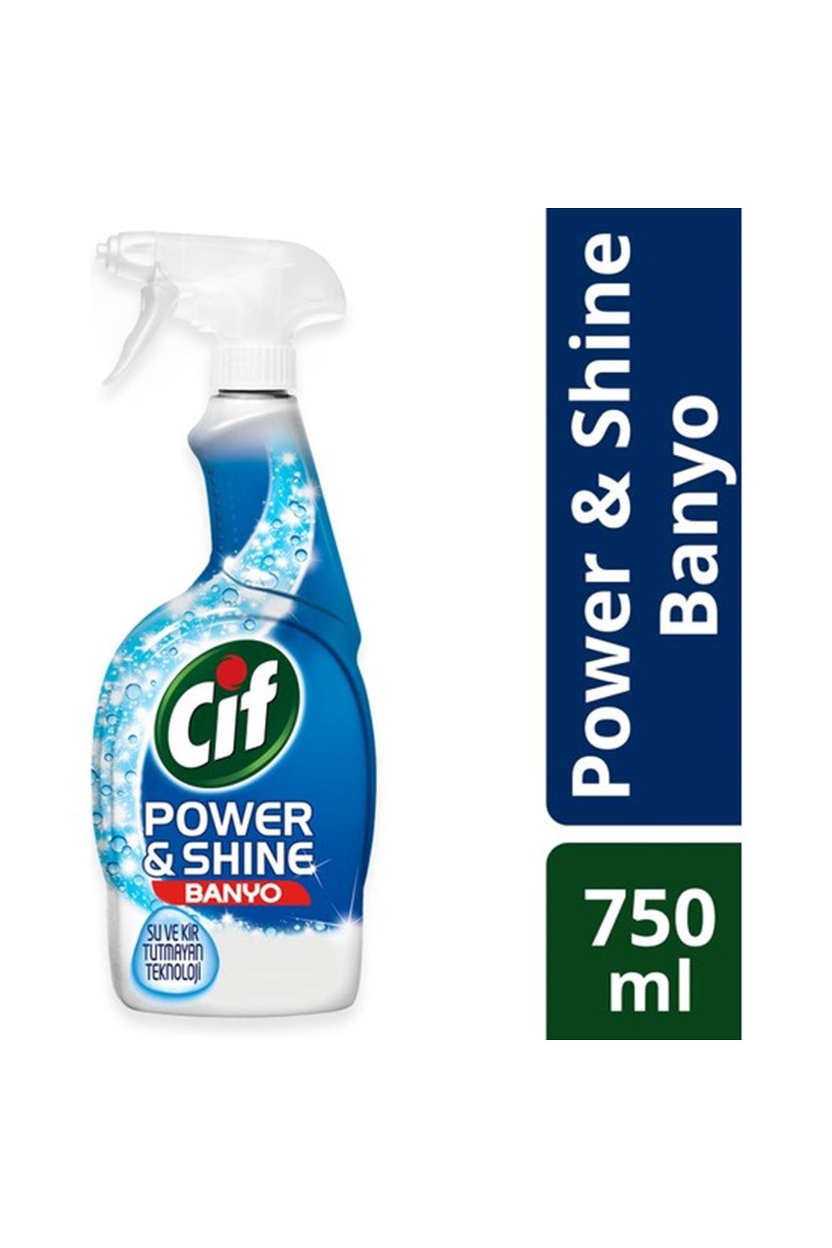 Cif Power & Shine Banyo Sprey Temizleyici 750 ml