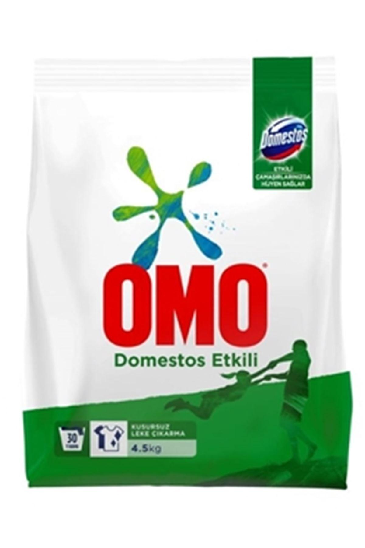 Omo Domestos Etkili Toz Çamaşır Deterjanı 4,5 KG 30 Yıkama