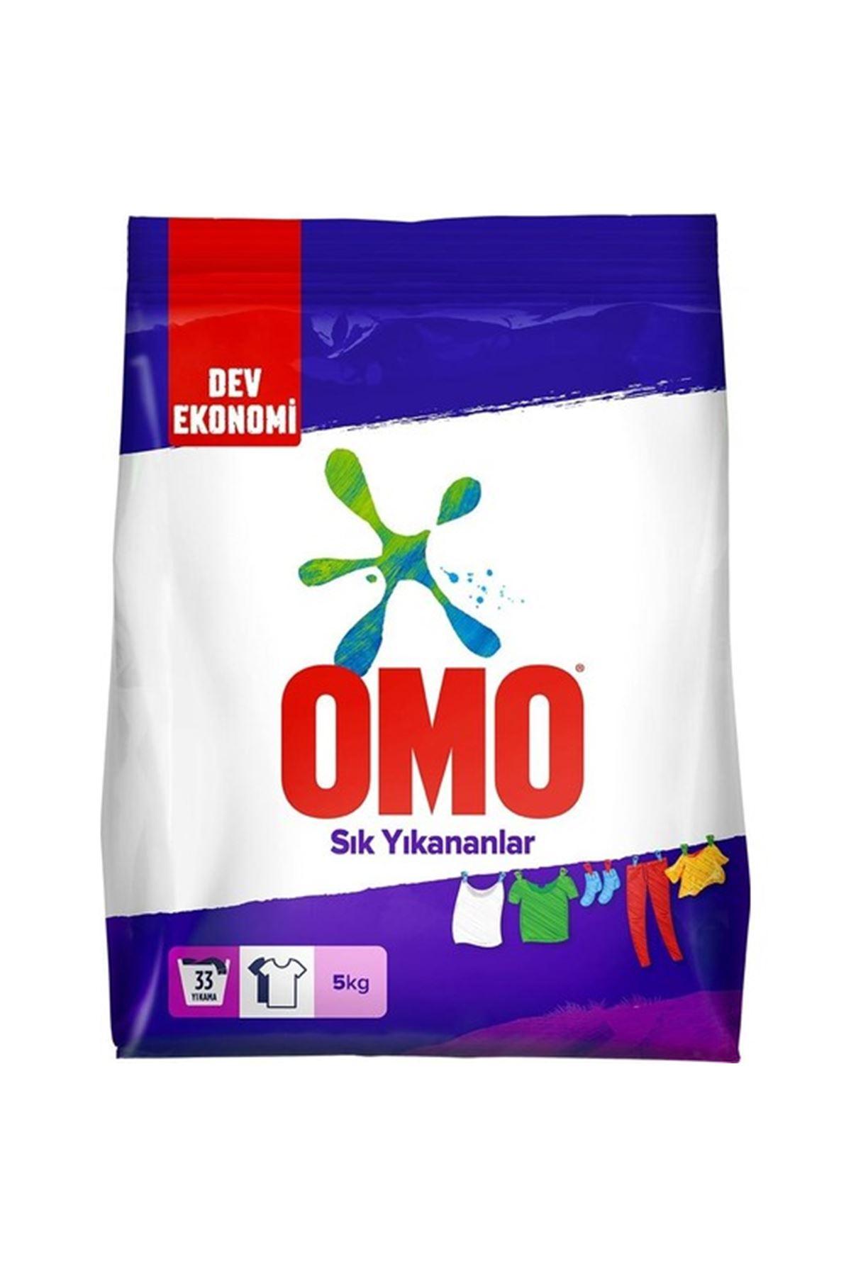 Omo Sık Yıkananlar 5 Kg Toz Çamaşır Deterjanı