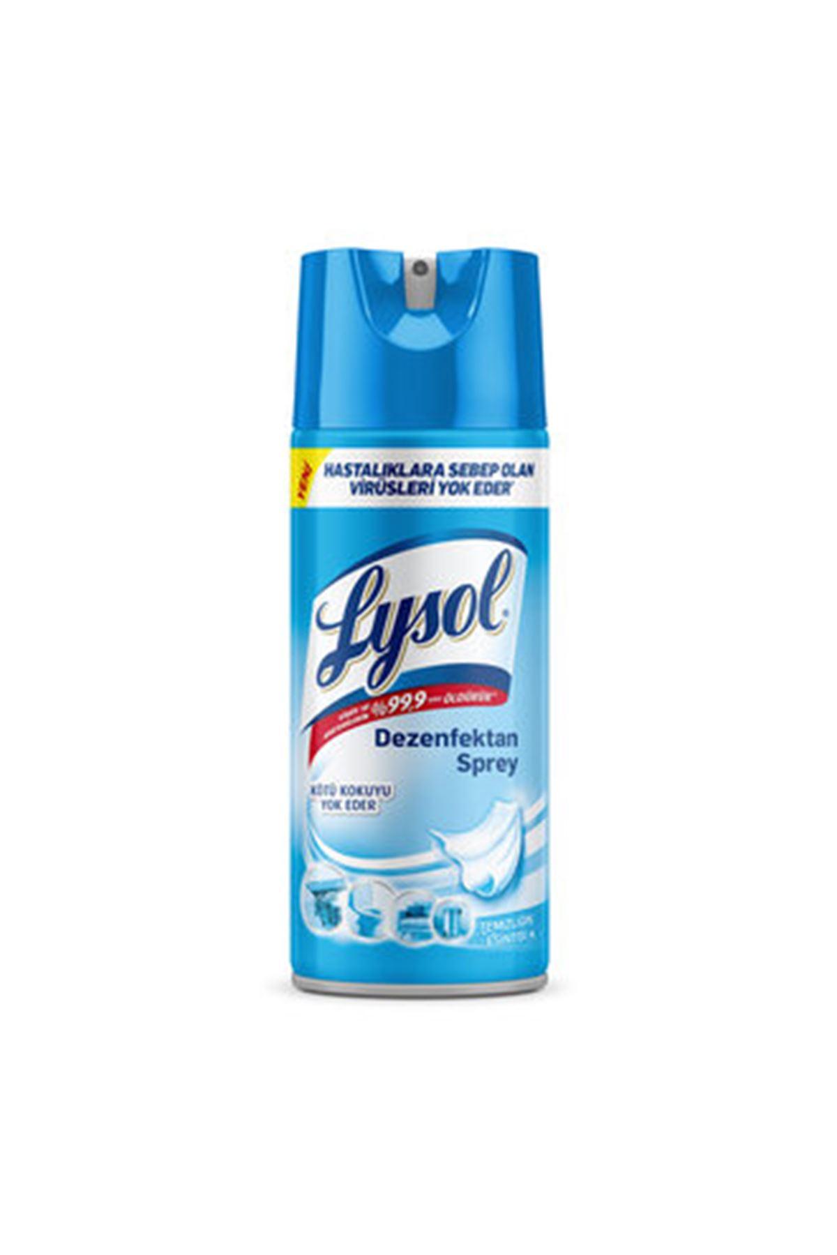 Lysol Dezenfektan Sprey Temizliğin Esintisi 400 ML