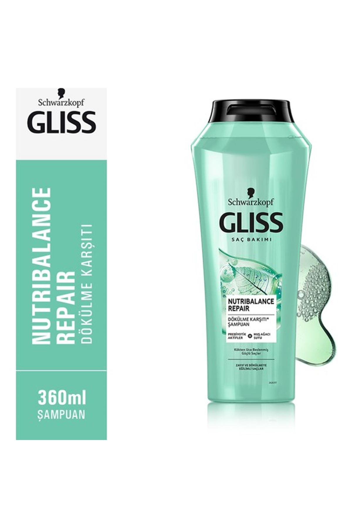 Gliss Nutribalance Repair Şampuan 360 ml