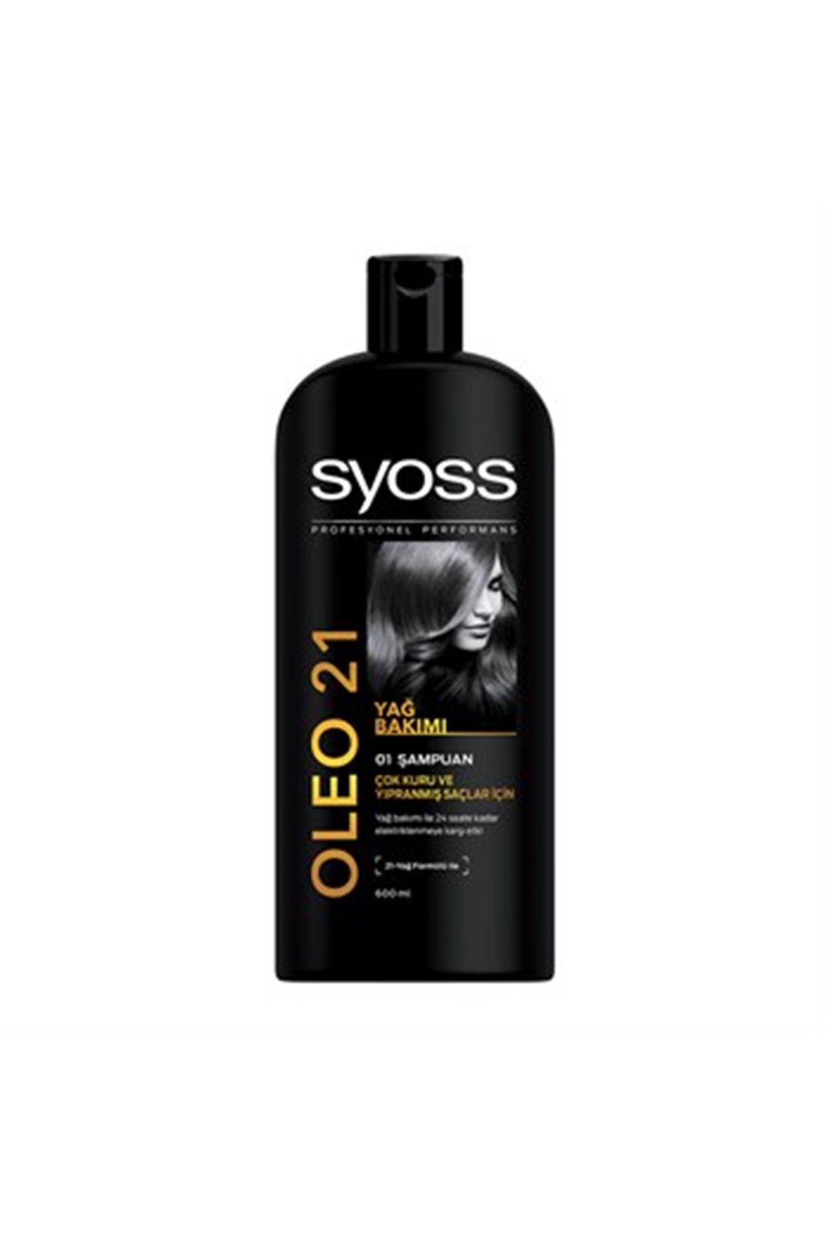Syoss Oleo 21 Yağ Bakımı Şampuan 550 ml
