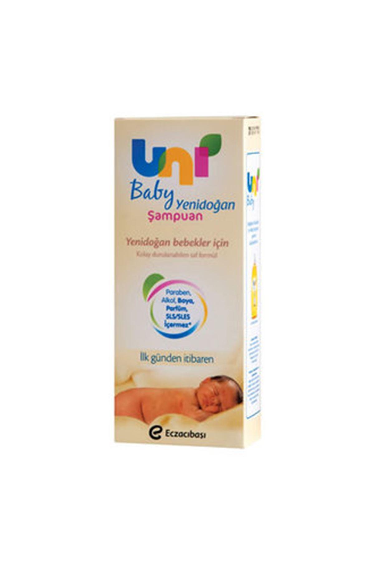 Uni Baby Yenidoğan Bebek Köpük Şampuanı 200 Ml