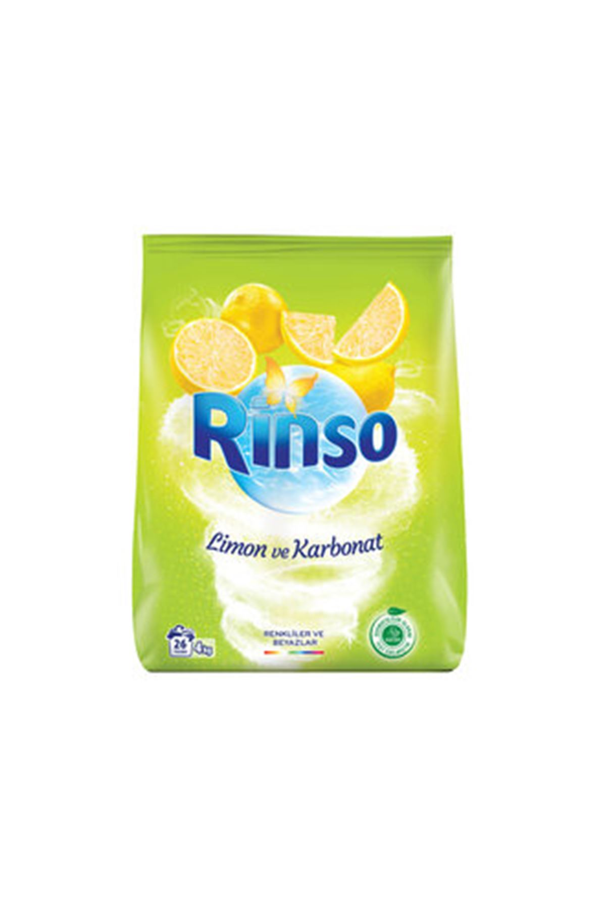 Rinso Limon Ve Karbonat 26 Yıkama 4 Kg