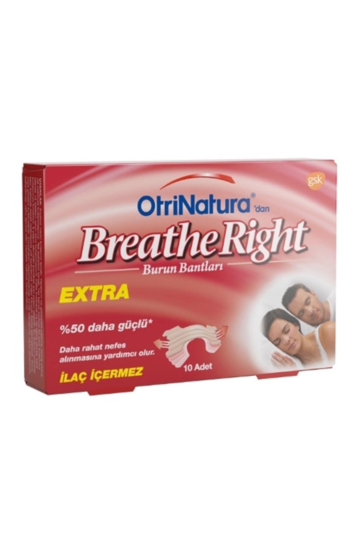 OtriNatura Breathe Right Burun Bandı Extra 10'lu