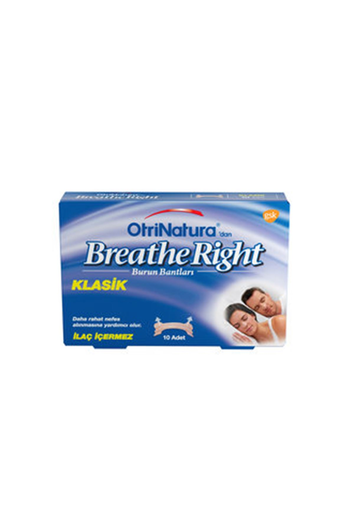 Breathe Right Burun Açıcı Bant Normal Boy 10'Lu