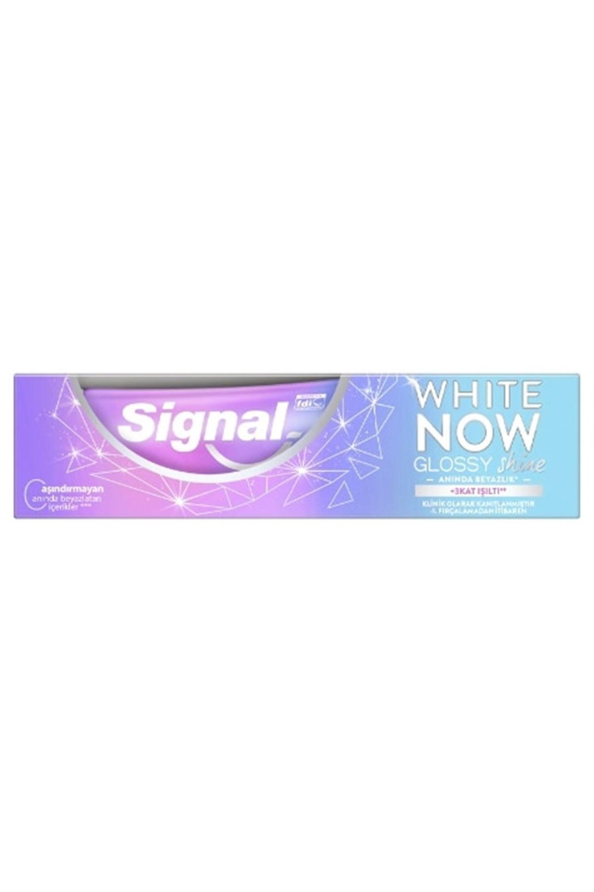 Signal White Now Glossy Shine Diş Macunu 75 ml