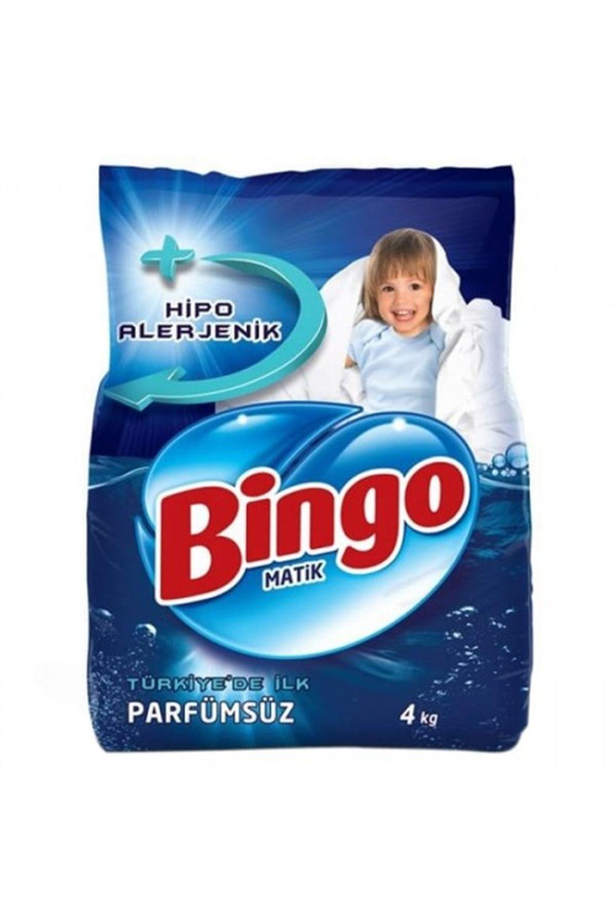Bingo Matik Çamaşır Deterjanı Parfümsüz 4 Kg