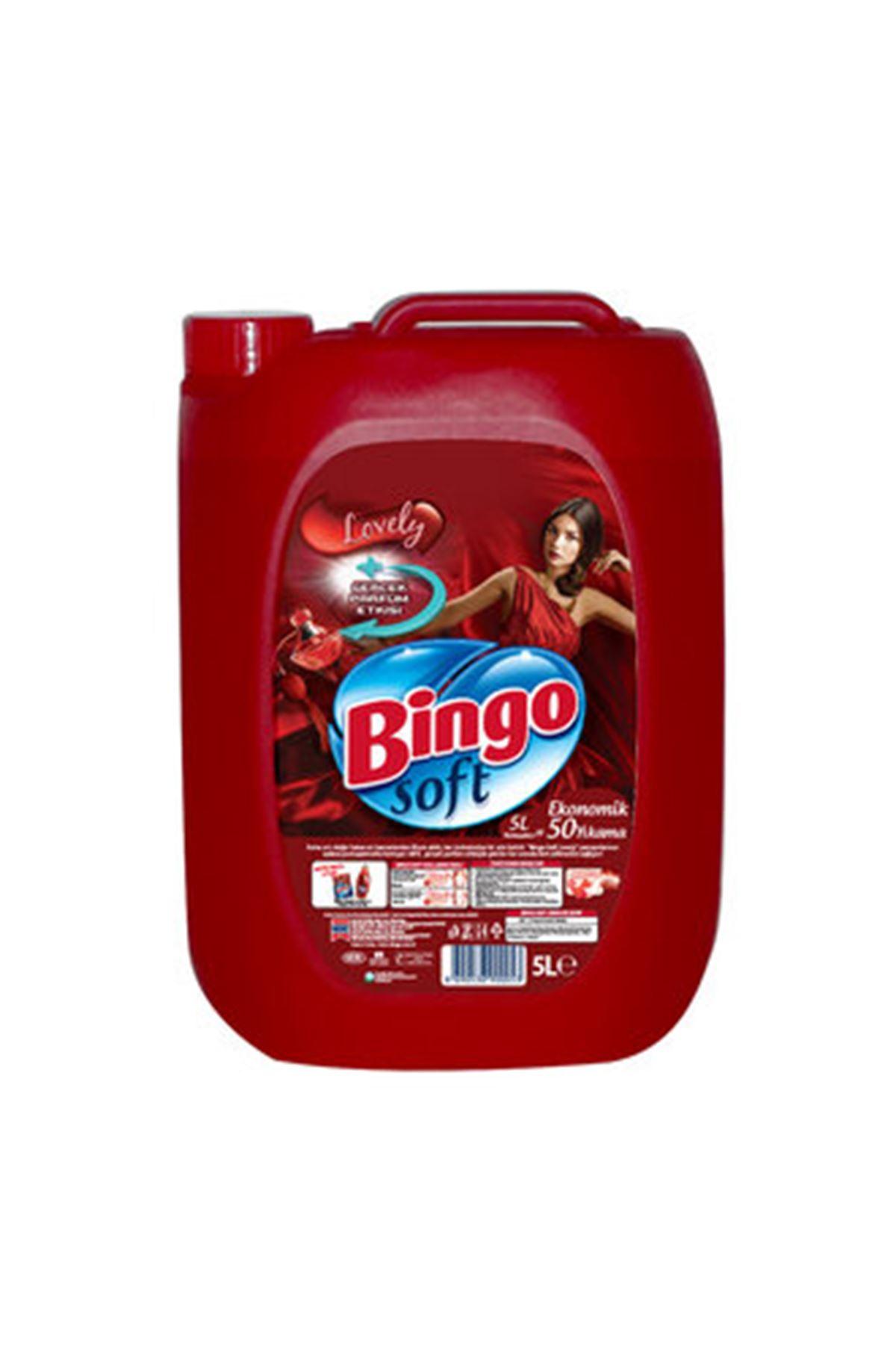 Bingo Soft Yumuşatıcı Lovely 5 L
