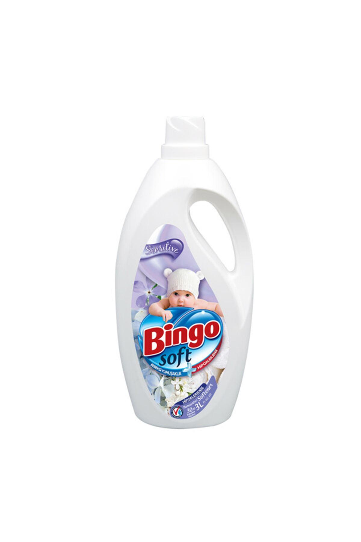 Bingo Soft Yumuşatıcı Sensitive 3 L