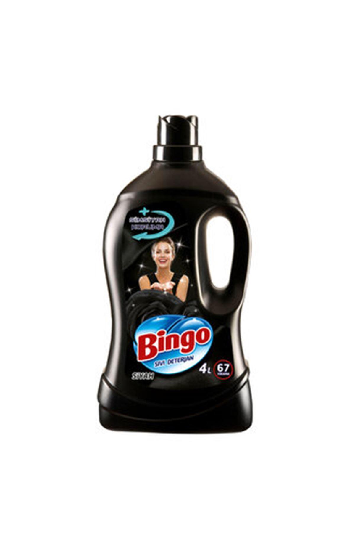 Bingo Sıvı Deterjan Bakım 4 L Siyah 67 Yıkama