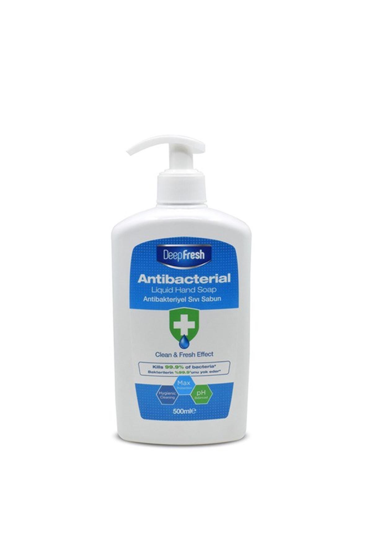 Deep Fresh Antibakteriyel Sıvı El Sabunu 500 Ml