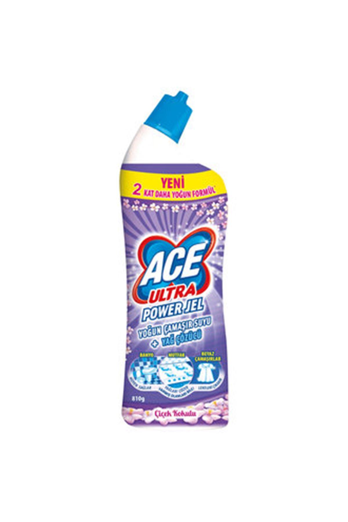 Ace Ultra Power Jel Çiçek Kokulu 750 Ml