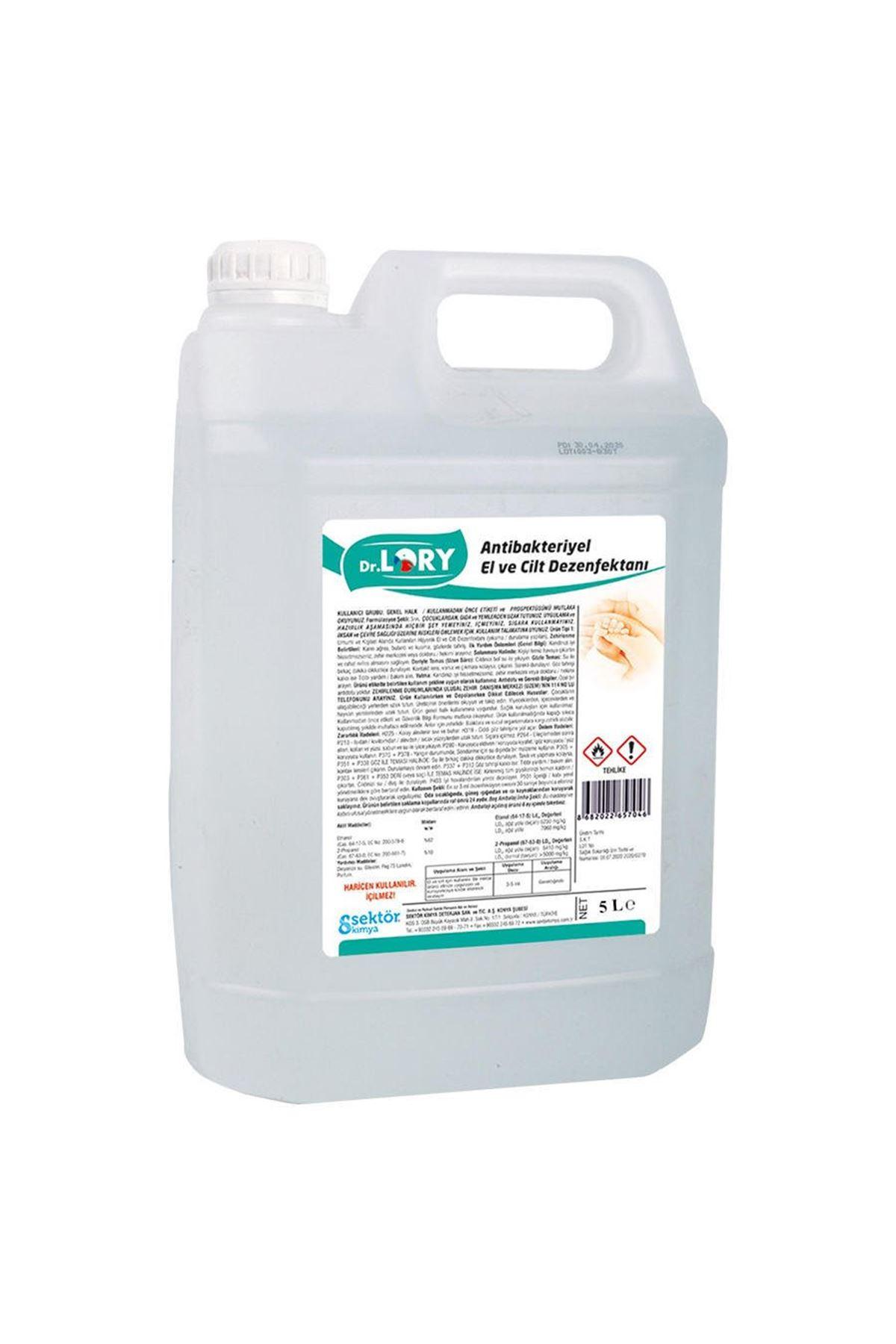 Dr. Lory Sıvı El Dezenfektanı 5 Lt