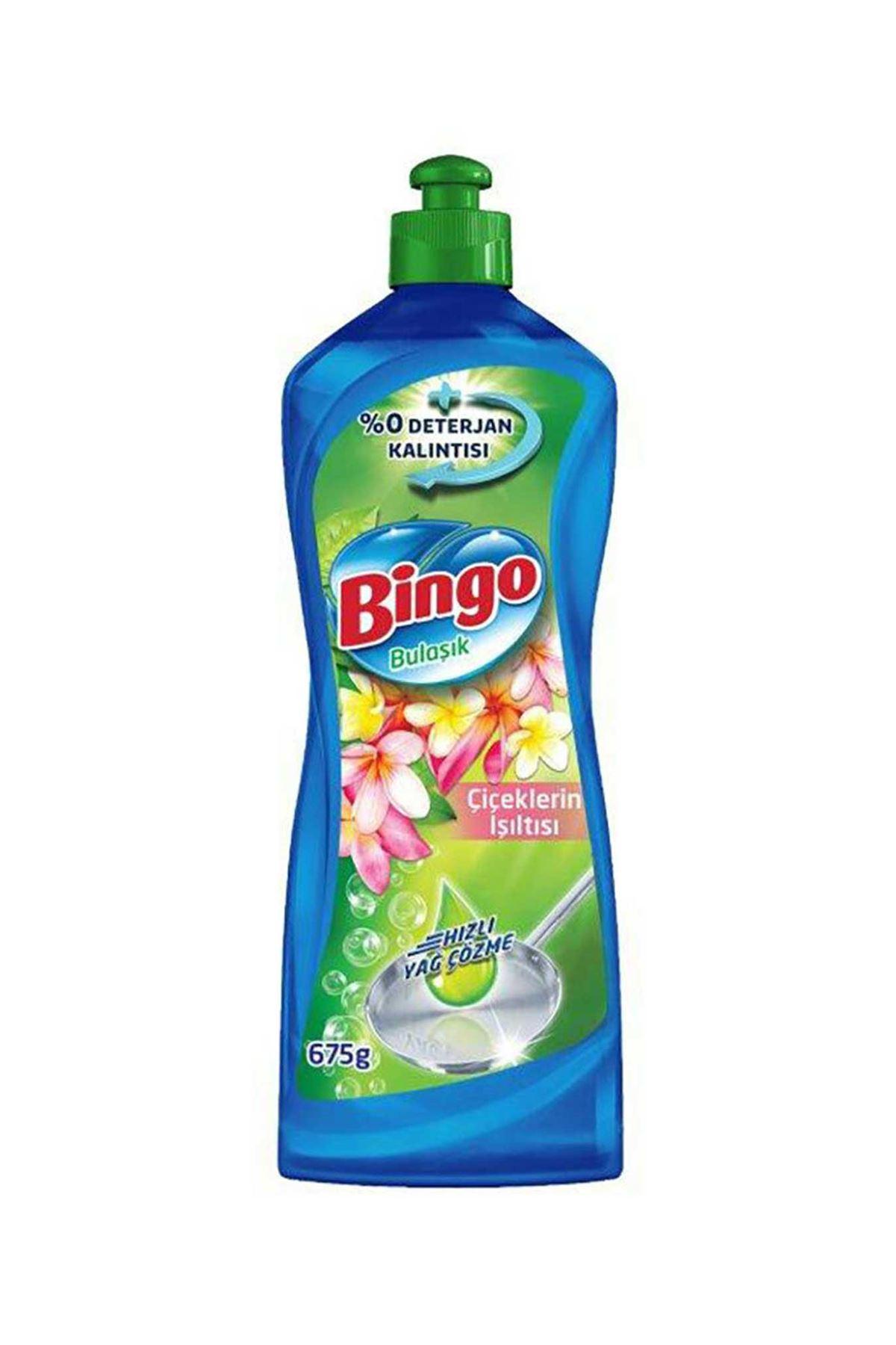 Bingo Sıvı Bulaşık Deterjanı Çiçeklerin Işıltısı 675 Ml