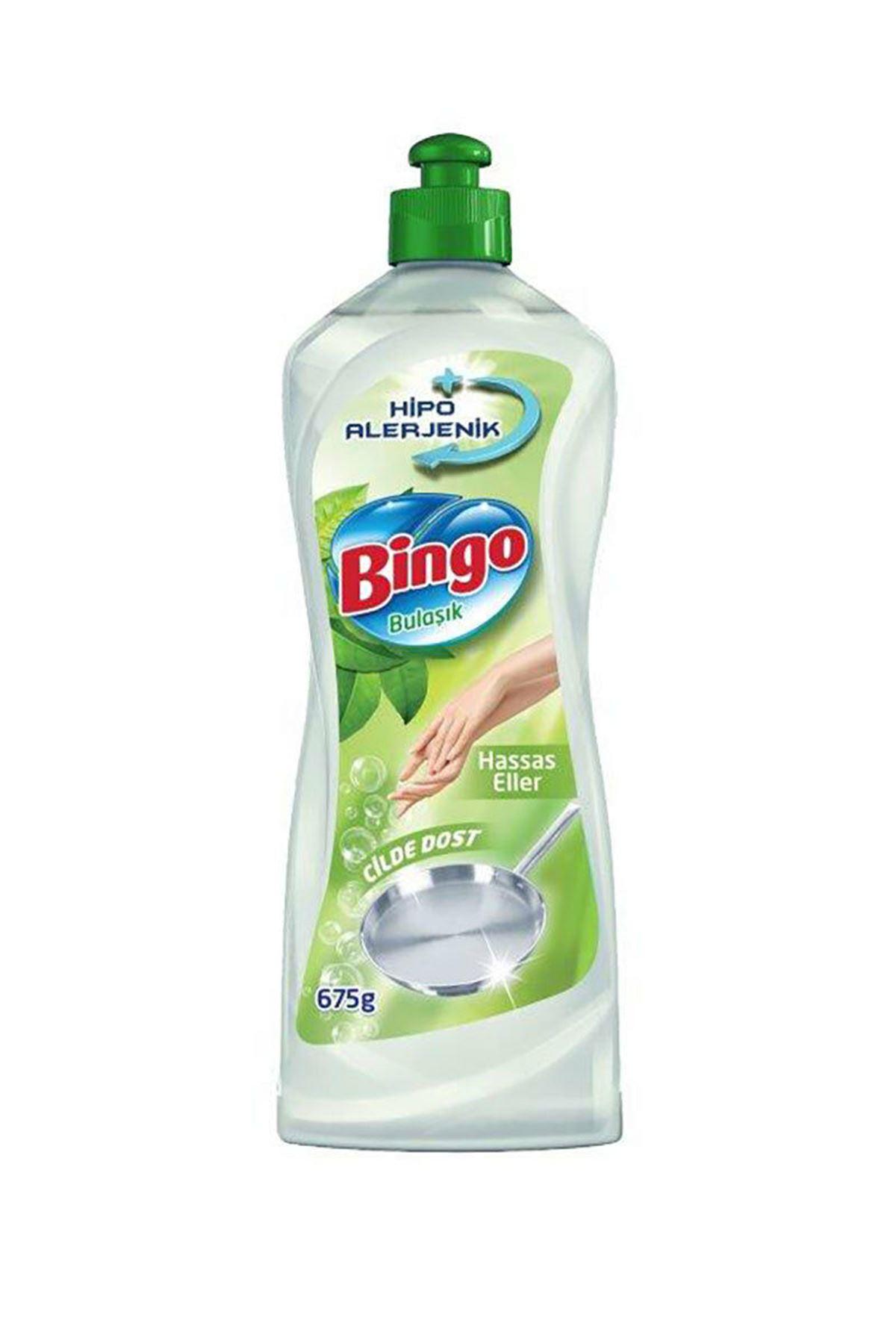 Bingo Sıvı Bulaşık Deterjanı Hipoalerjenik 675 Ml