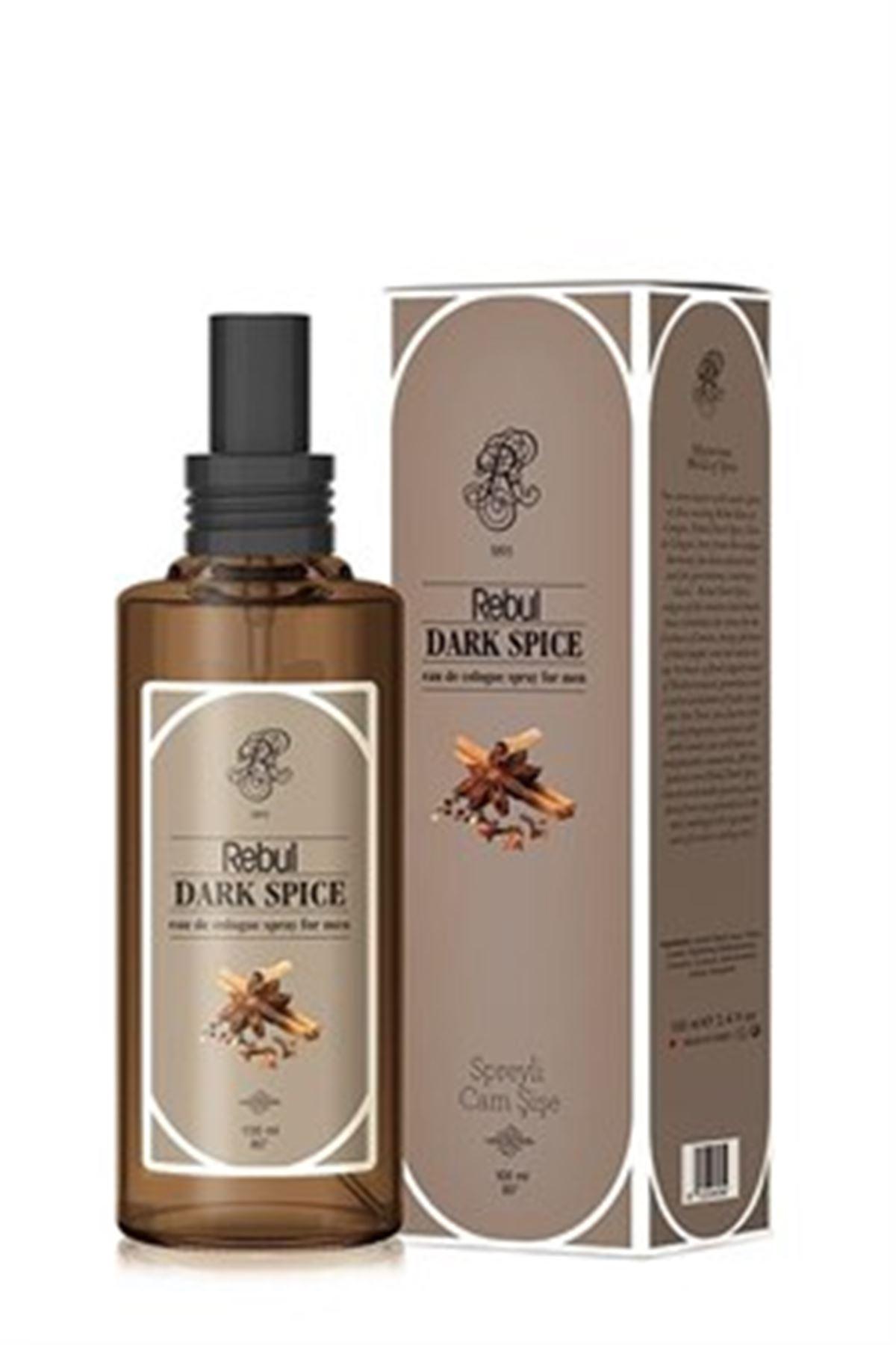 Rebul Dark Spice 100 ML Sprey Cam Şişe