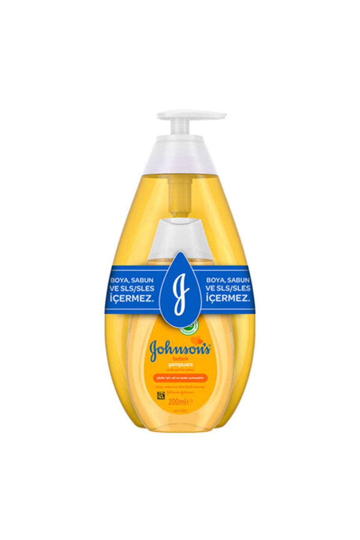 Johnsons Baby Bebek Şampuanı Klasik 750Ml+200 Hediye Bebek Şampuanı