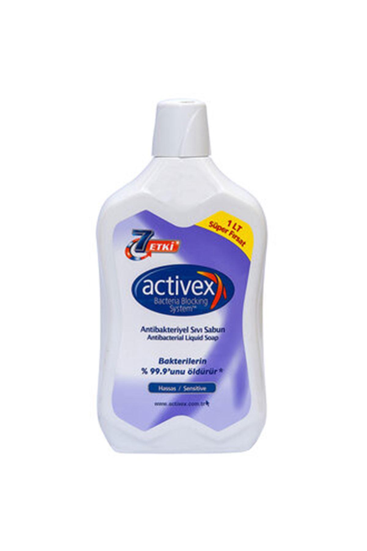 Activex Sıvı Sabun 1000 ML Hassas