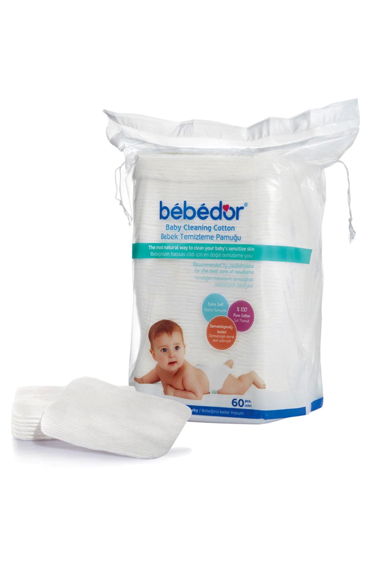Bebedor Bebek Temizleme Pamuğu 60 Adet