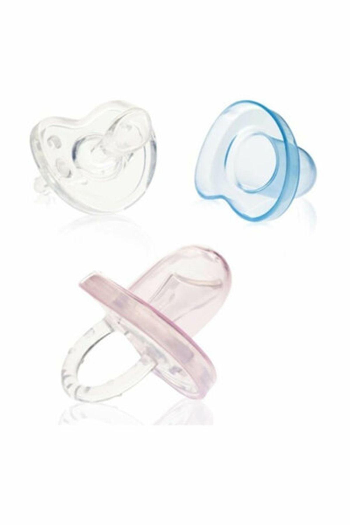 Bebedor Damaklı Kapaklı Soft Silikon Emzik  Bebek 0-6 Ay