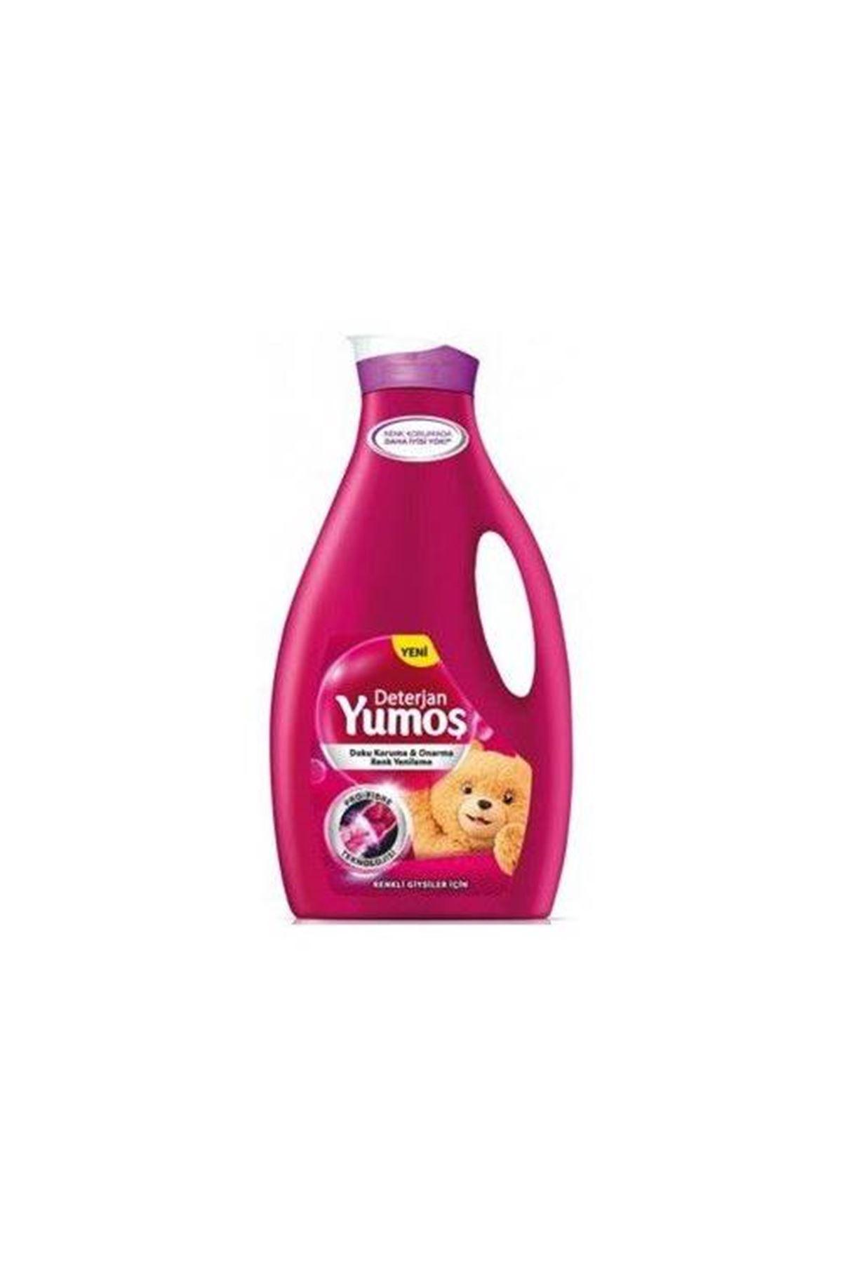 Yumoş Renkli Giysiler Sıvı Çamaşır Deterjan 2520 ml