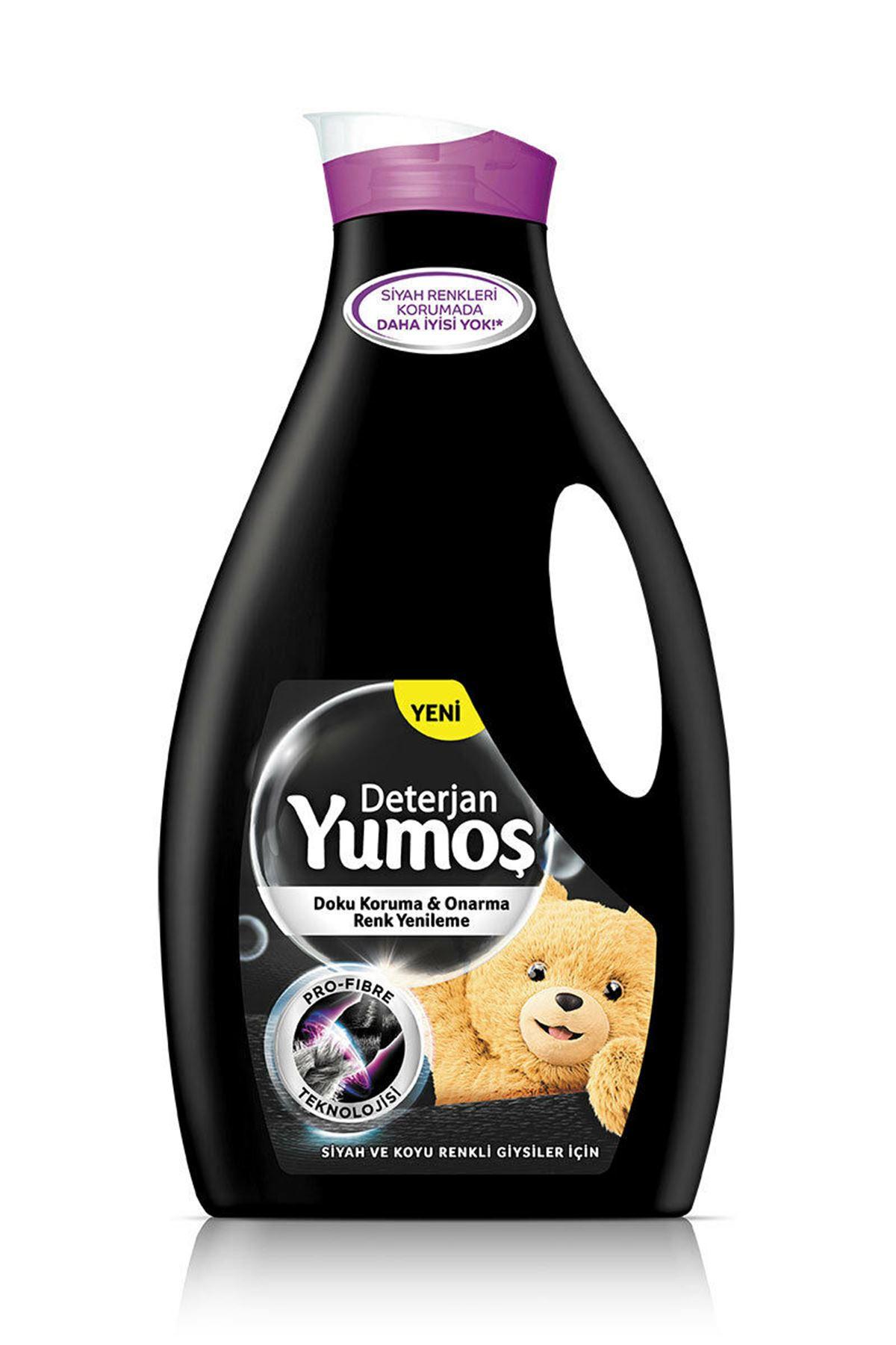 Yumoş Siyah ve Koyu Renkli Giysiler Sıvı Çamaşır Deterjan 2520 ml