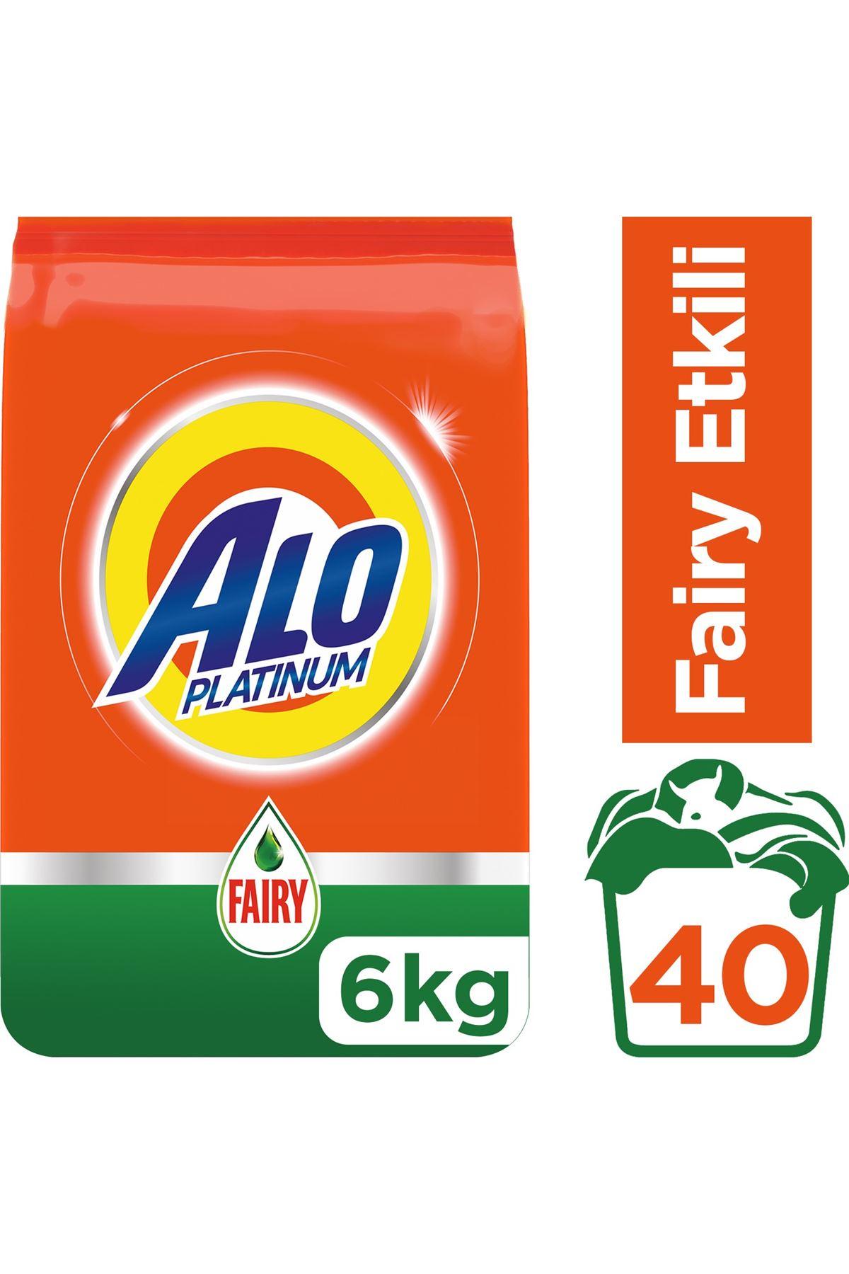 Alo Platinum Fairy Etkili Toz Çamaşır Deterjanı 6 Kg