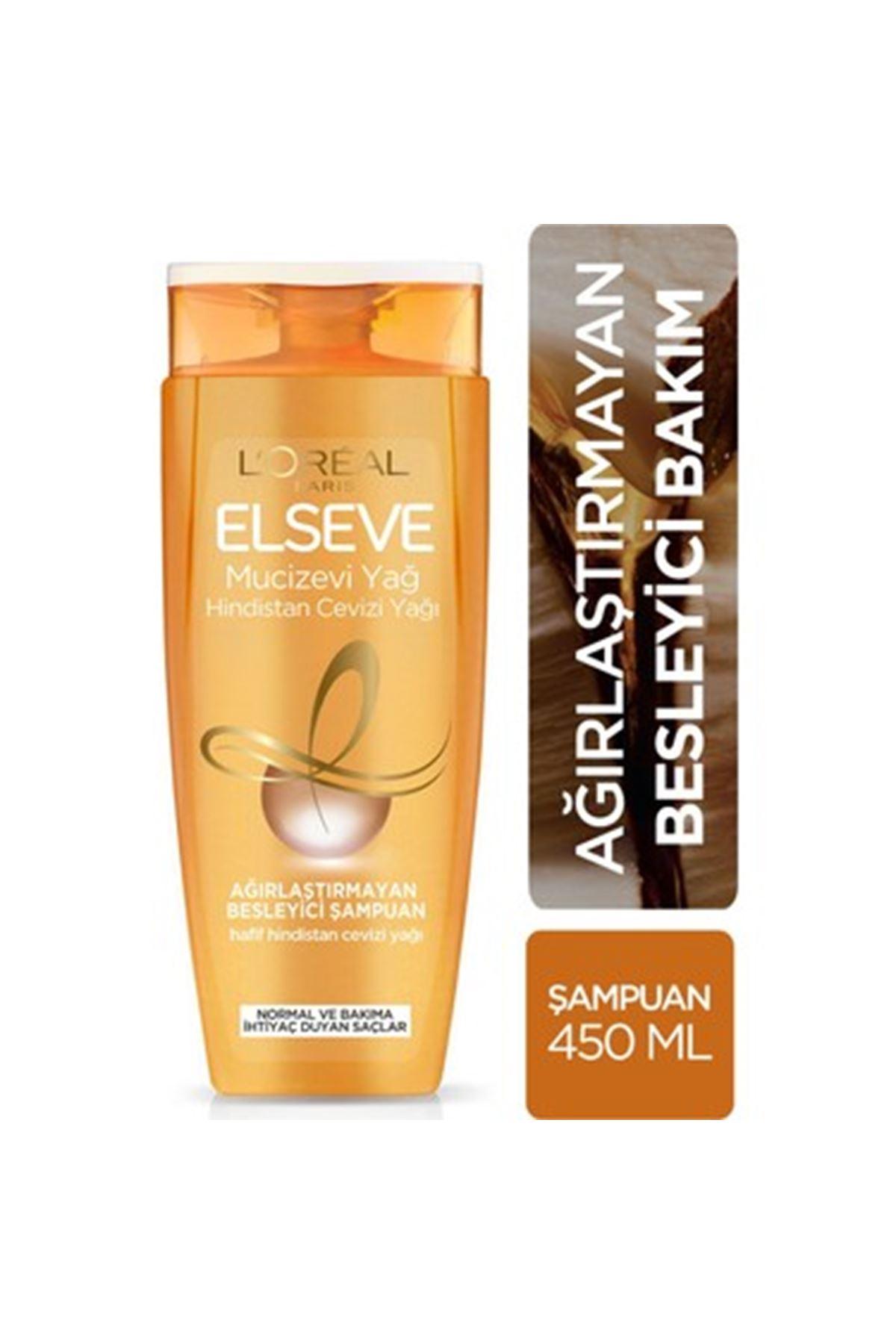 L'Oreal Paris Elseve 6 Mucizevi Yağ Şampuan 450 ml