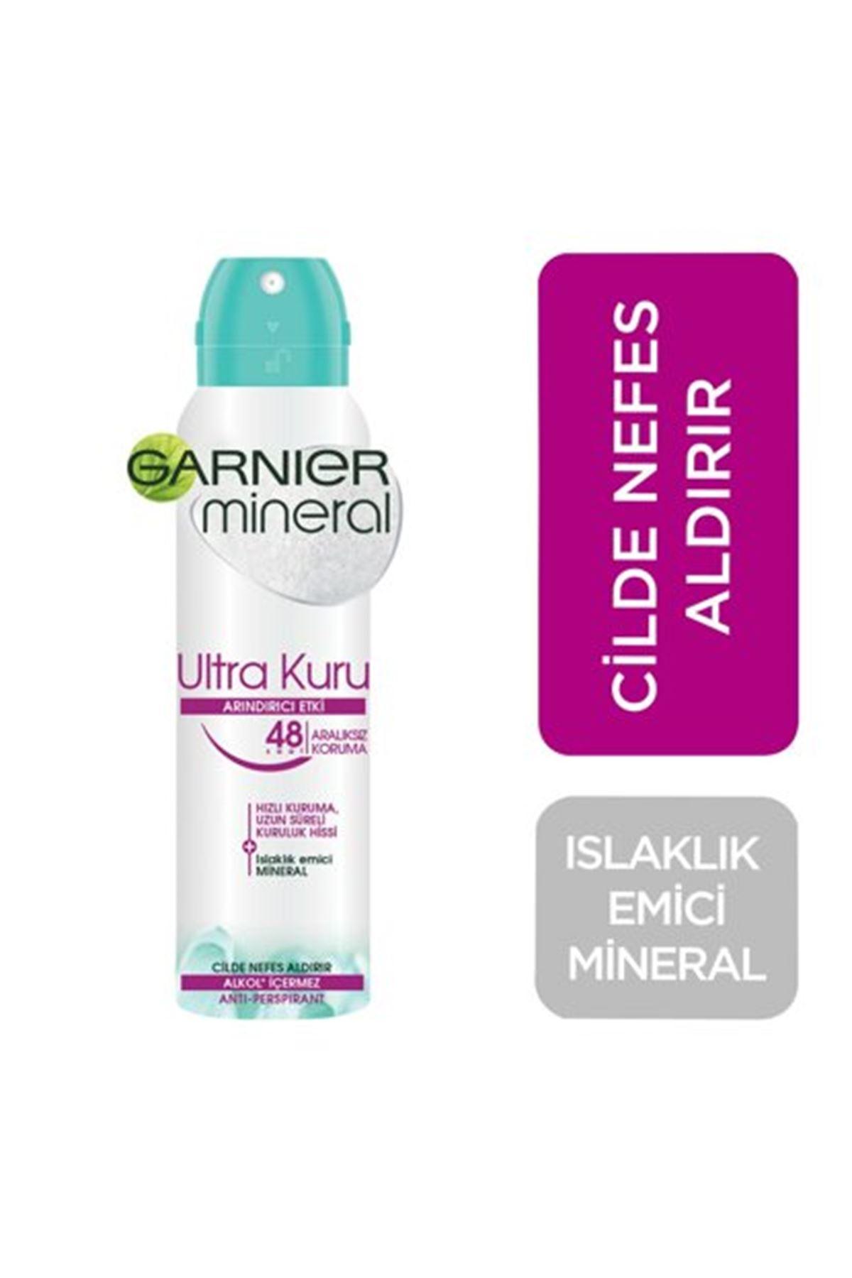 Garnier Mineral Deodorant Ultra Kuru Hızlı Kuruma 150 ml