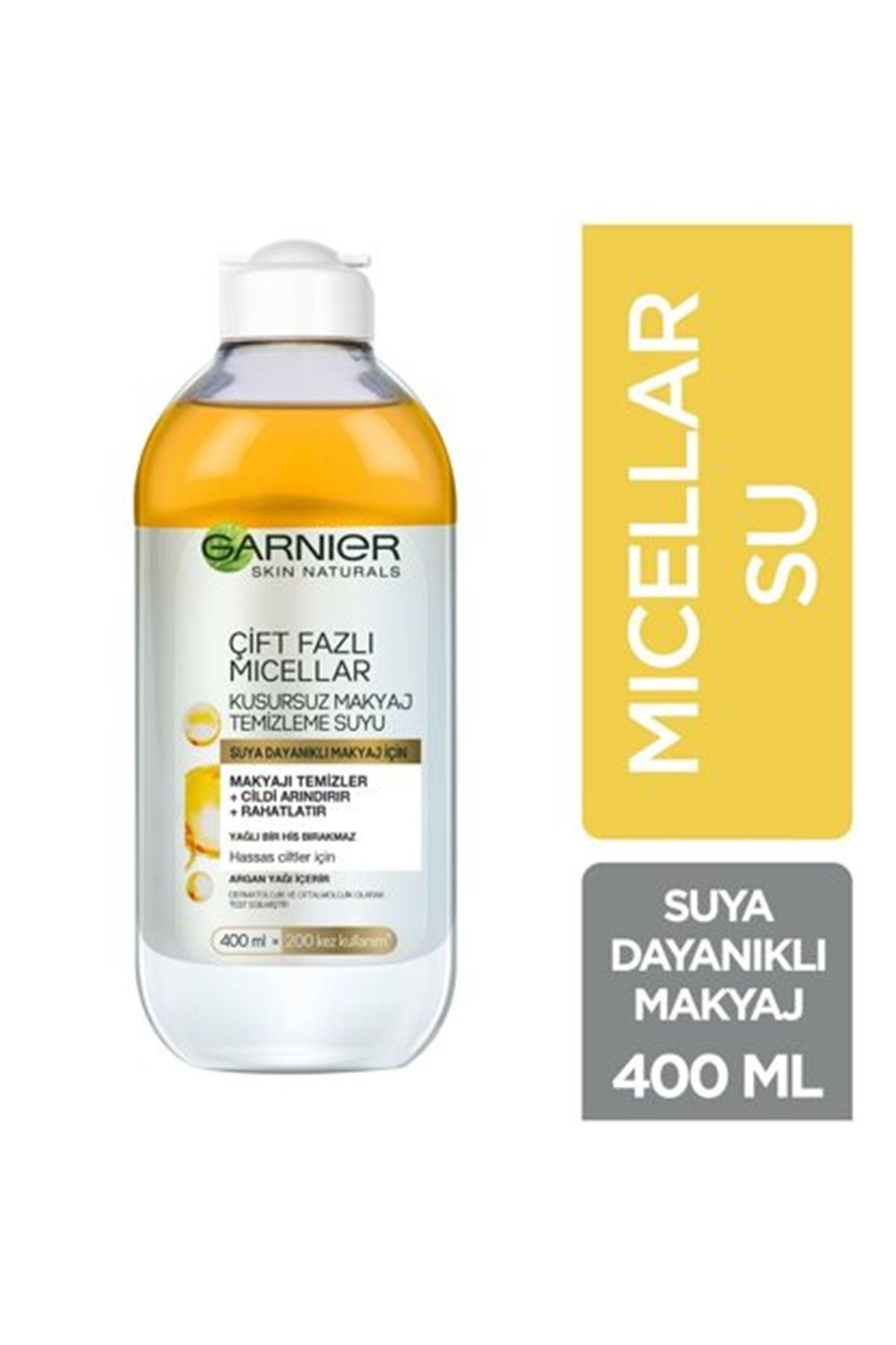 Garnier Çift Fazlı Micellar Kusursuz Makyaj Temizleme Suyu 400 ml