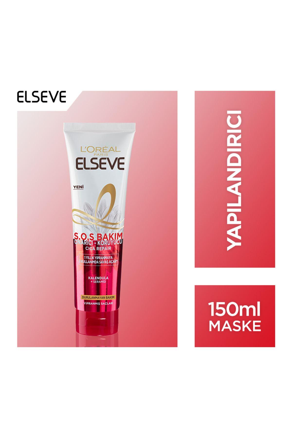 L'Oréal Paris Elseve S.O.S Bakım Onarıcı Koruyucu Krem 150 Ml