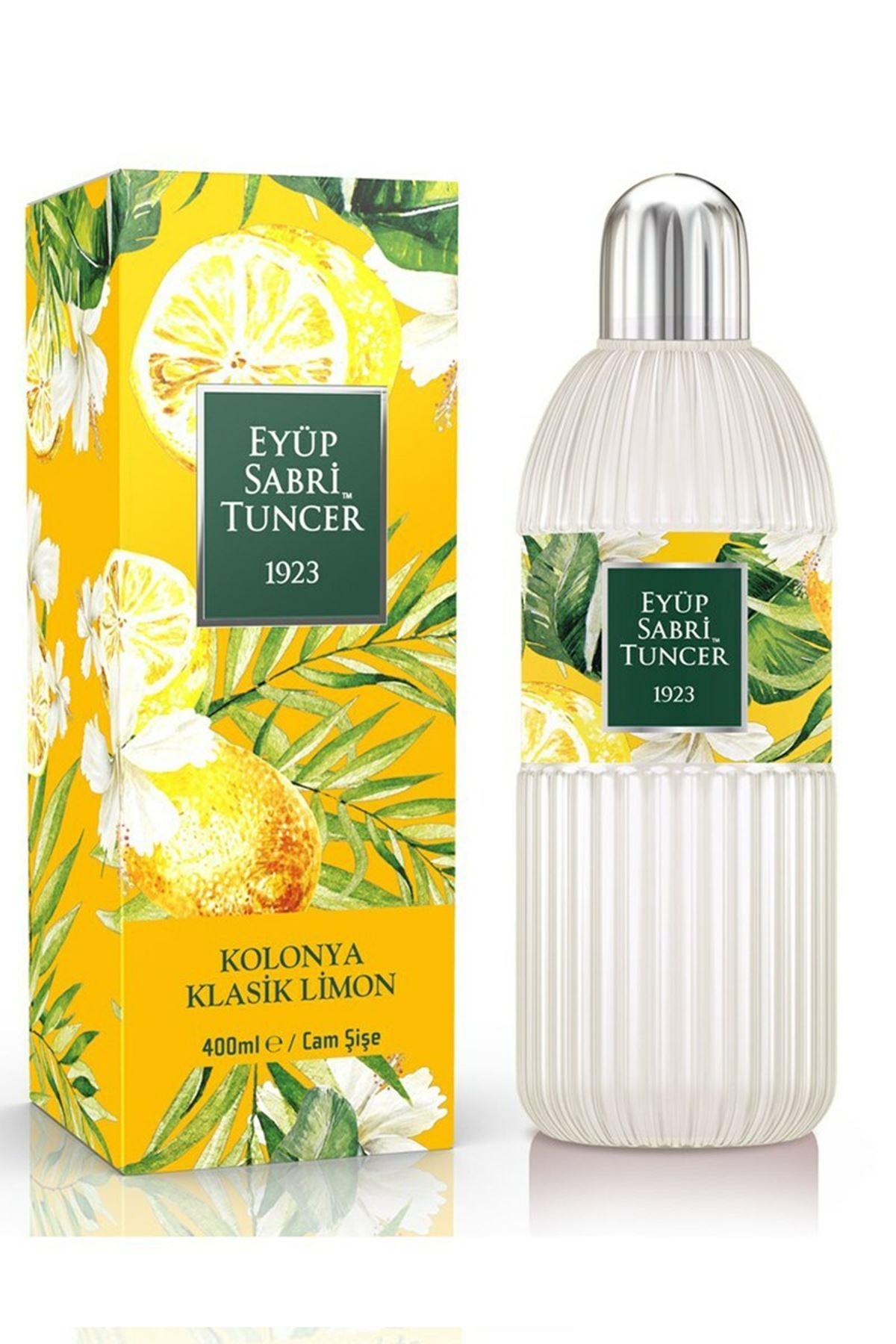 Eyüp Sabri Tuncer Klasik Limon Kolonyası 400 ml - Cam Şişe