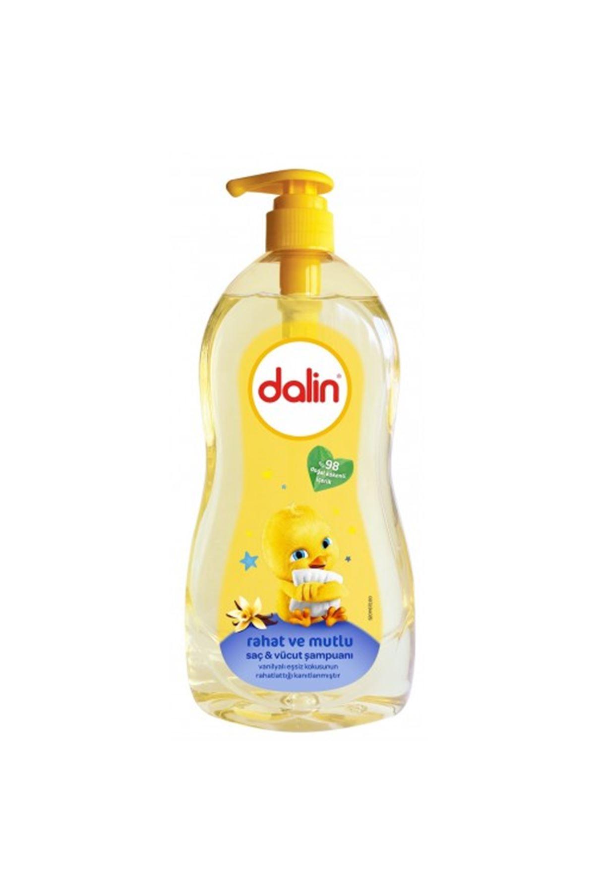 Dalin Vanilya Kokulu Rahat ve Mutlu Saç & Vücut Şampuanı 400 ml