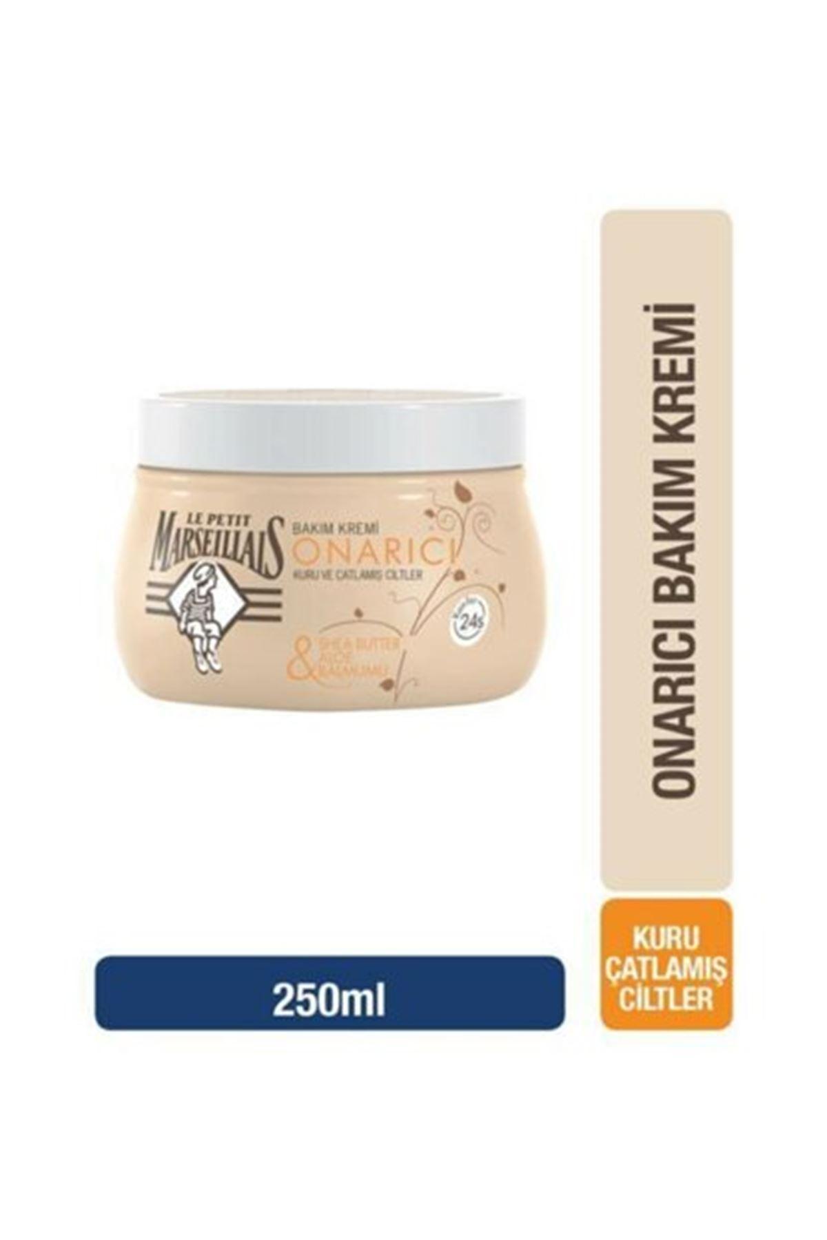 Le Petit Marseillais Shea Yağı & Aloe & Balmumu İçerikli Onarıcı Bakım Kremi 250 ml