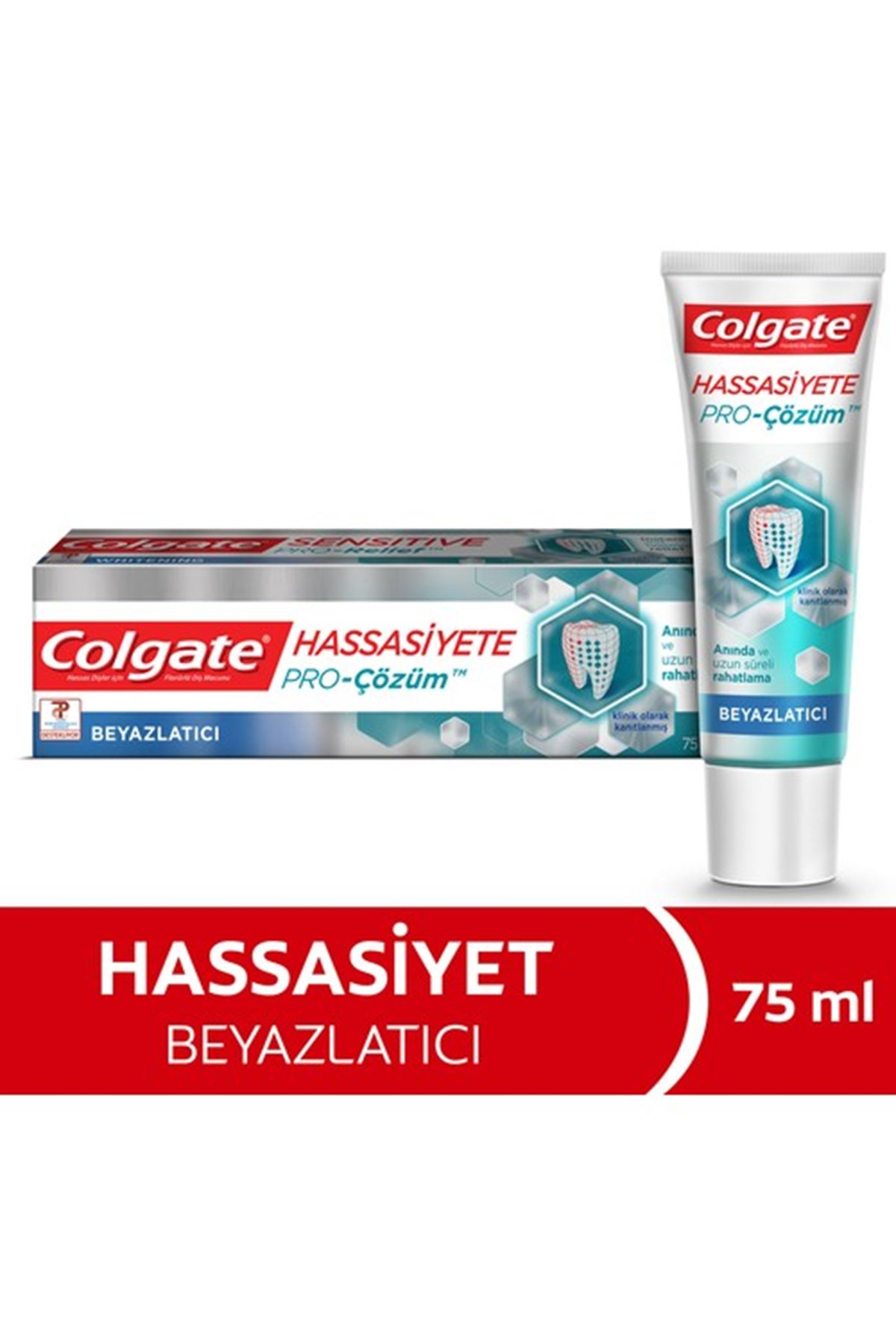 Colgate Hassasiyete Pro Çözüm Beyazlatıcı Diş Macunu 75 Ml