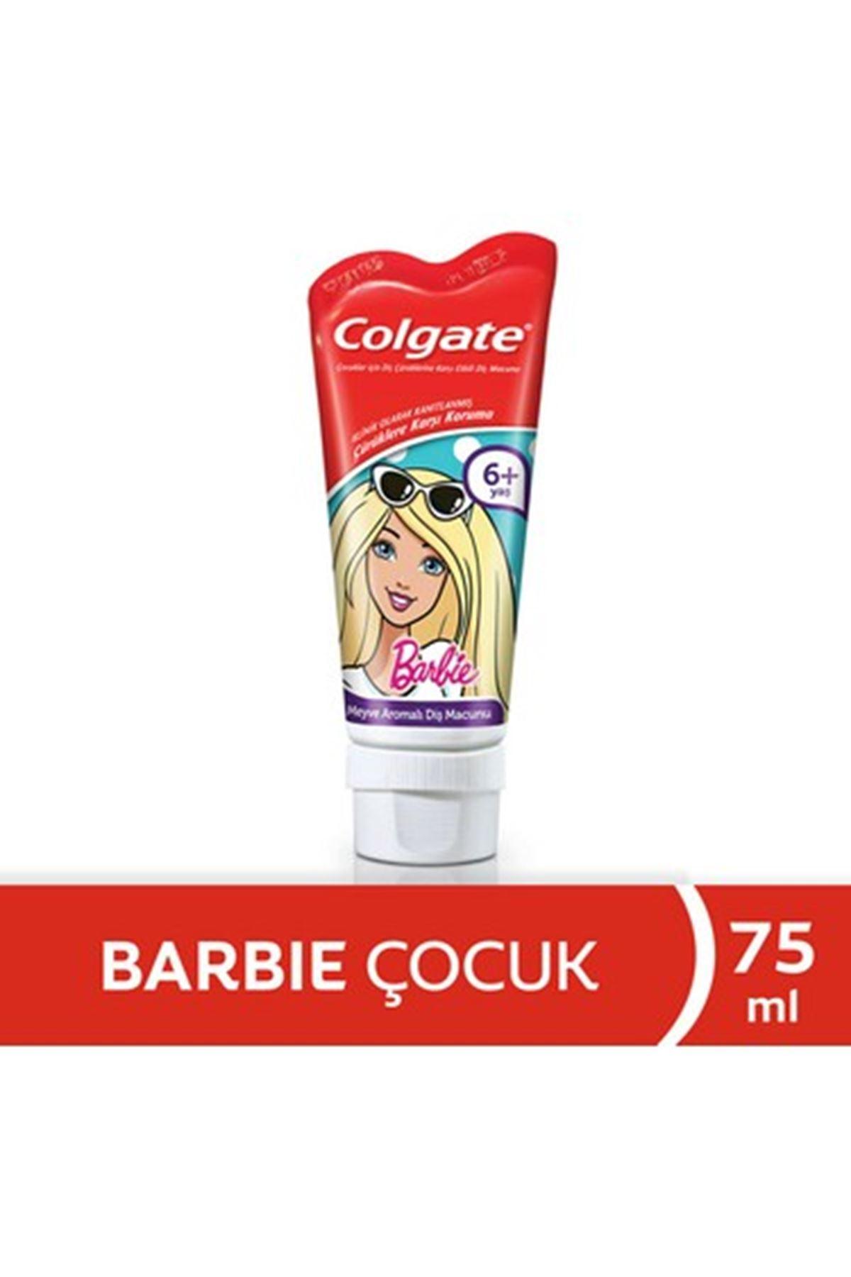Colgate Barbie Çocuk Diş Macunu 75 Ml 6+ Yaş