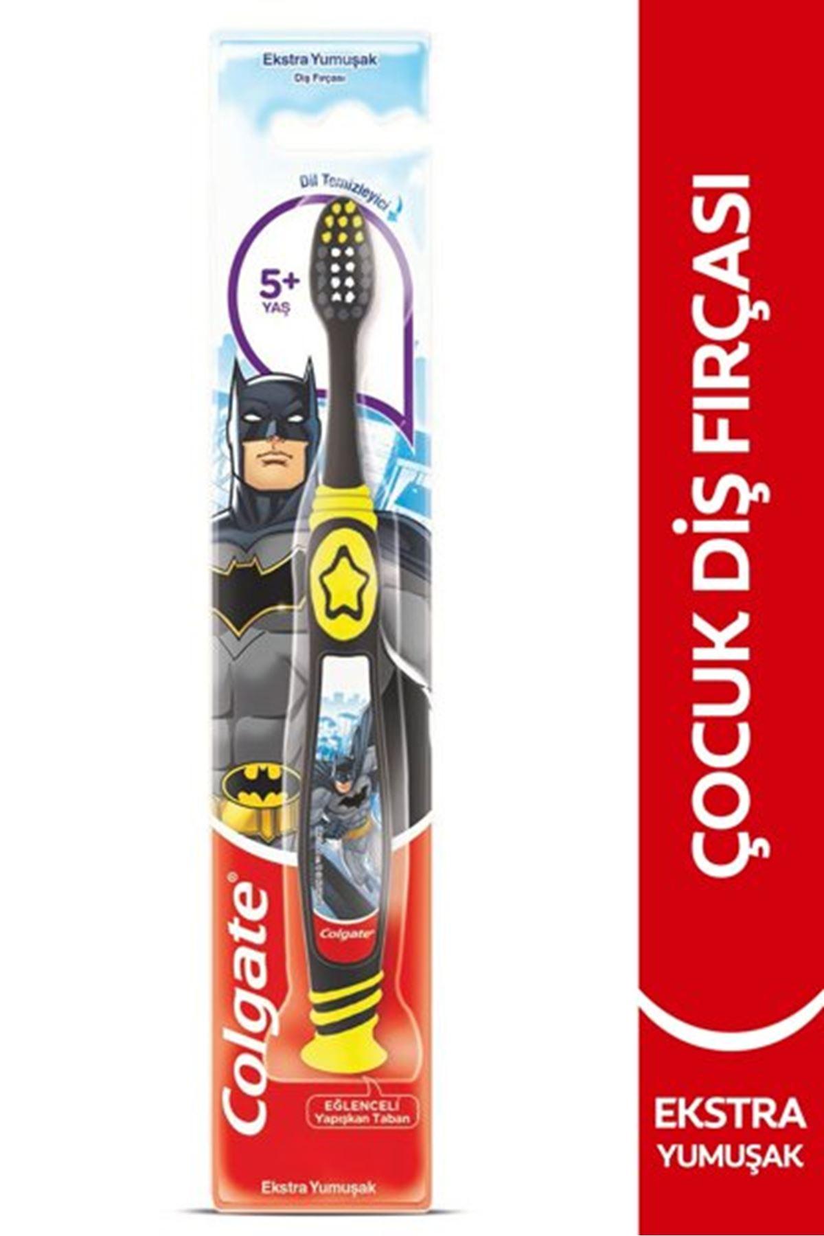 Colgate Batman 5+yaş Ekstra Yumuşak Çocuk Diş Fırçası